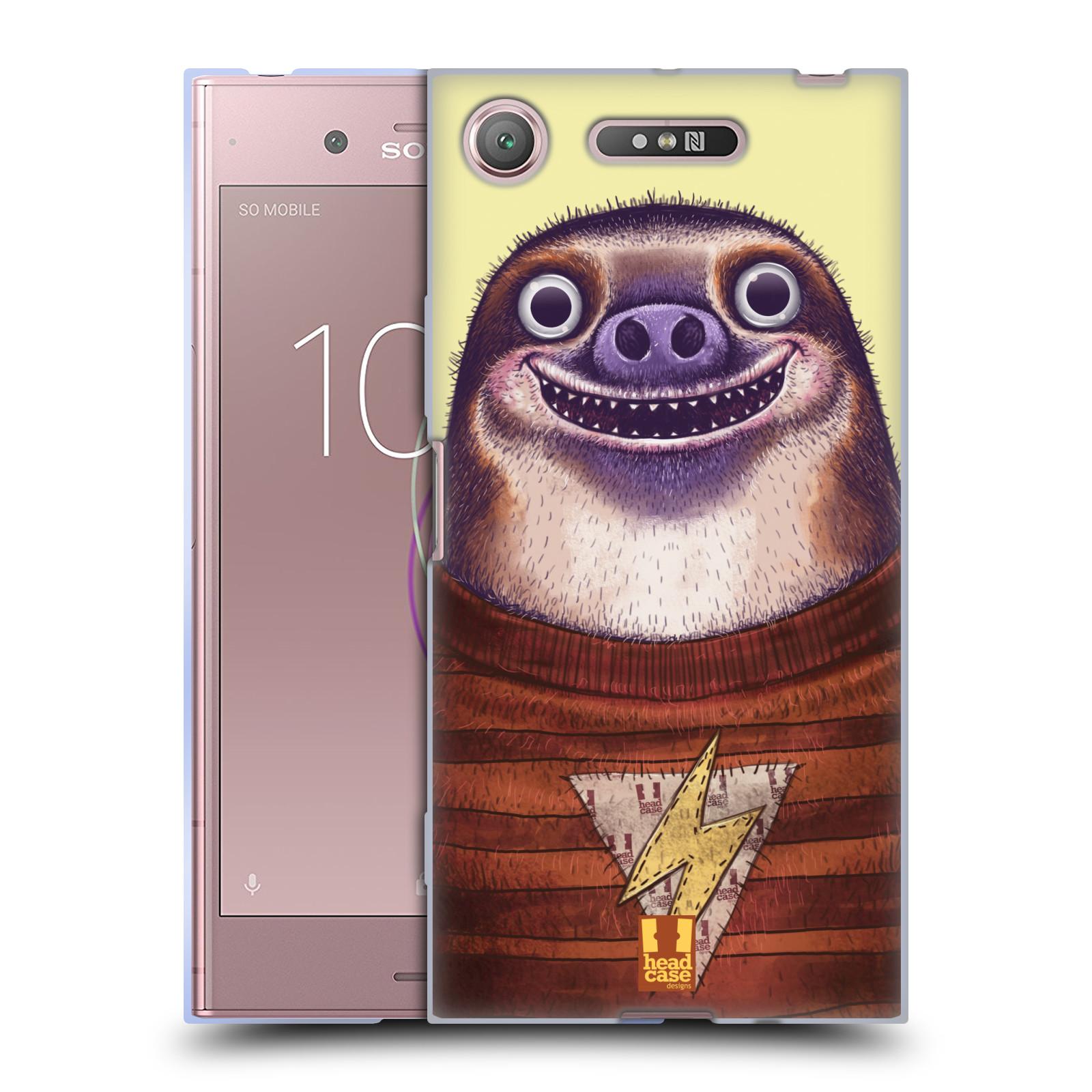 Silikonové pouzdro na mobil Sony Xperia XZ1 - Head Case - ANIMPLA LENOCHOD