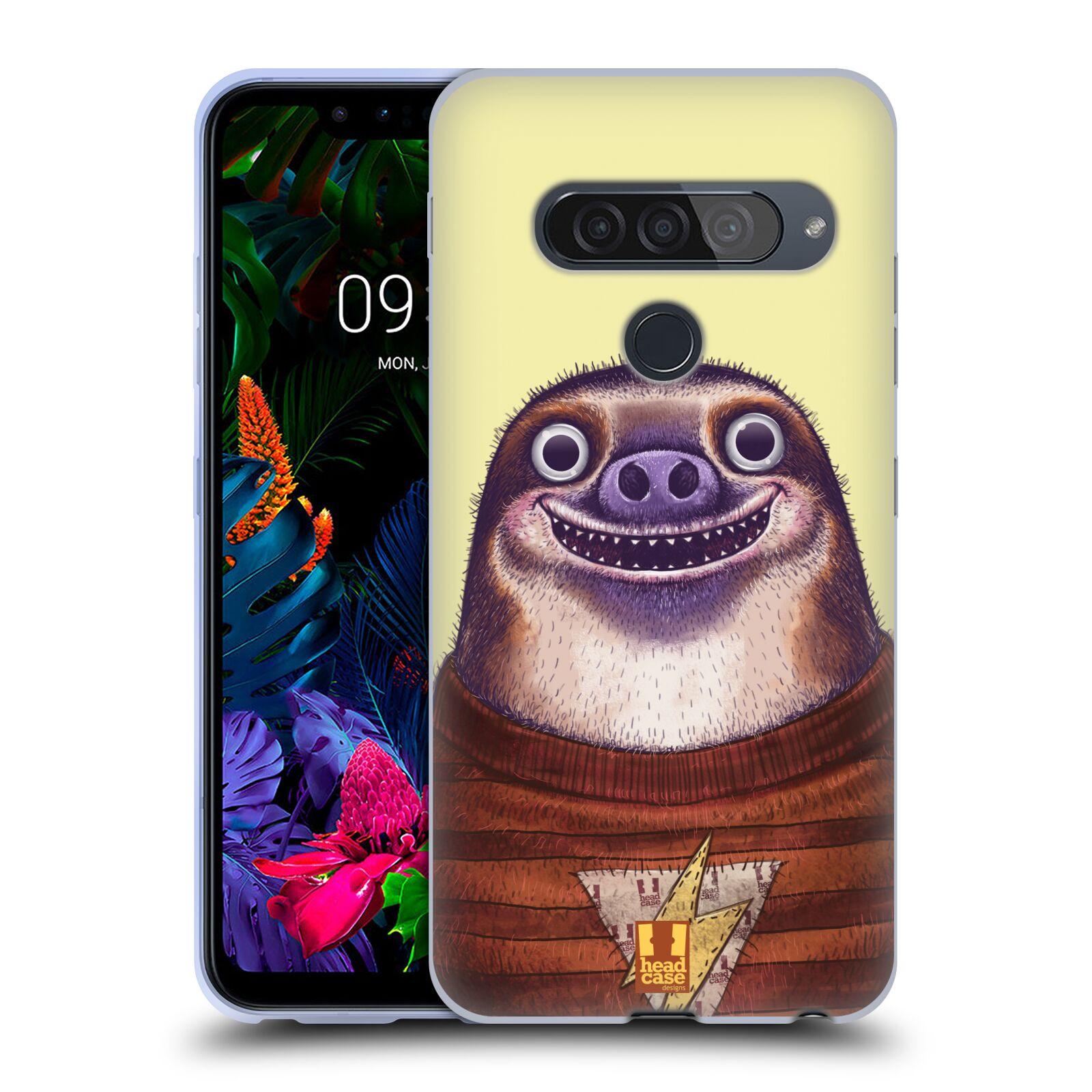 Silikonové pouzdro na mobil LG G8s ThinQ - Head Case - ANIMPLA LENOCHOD