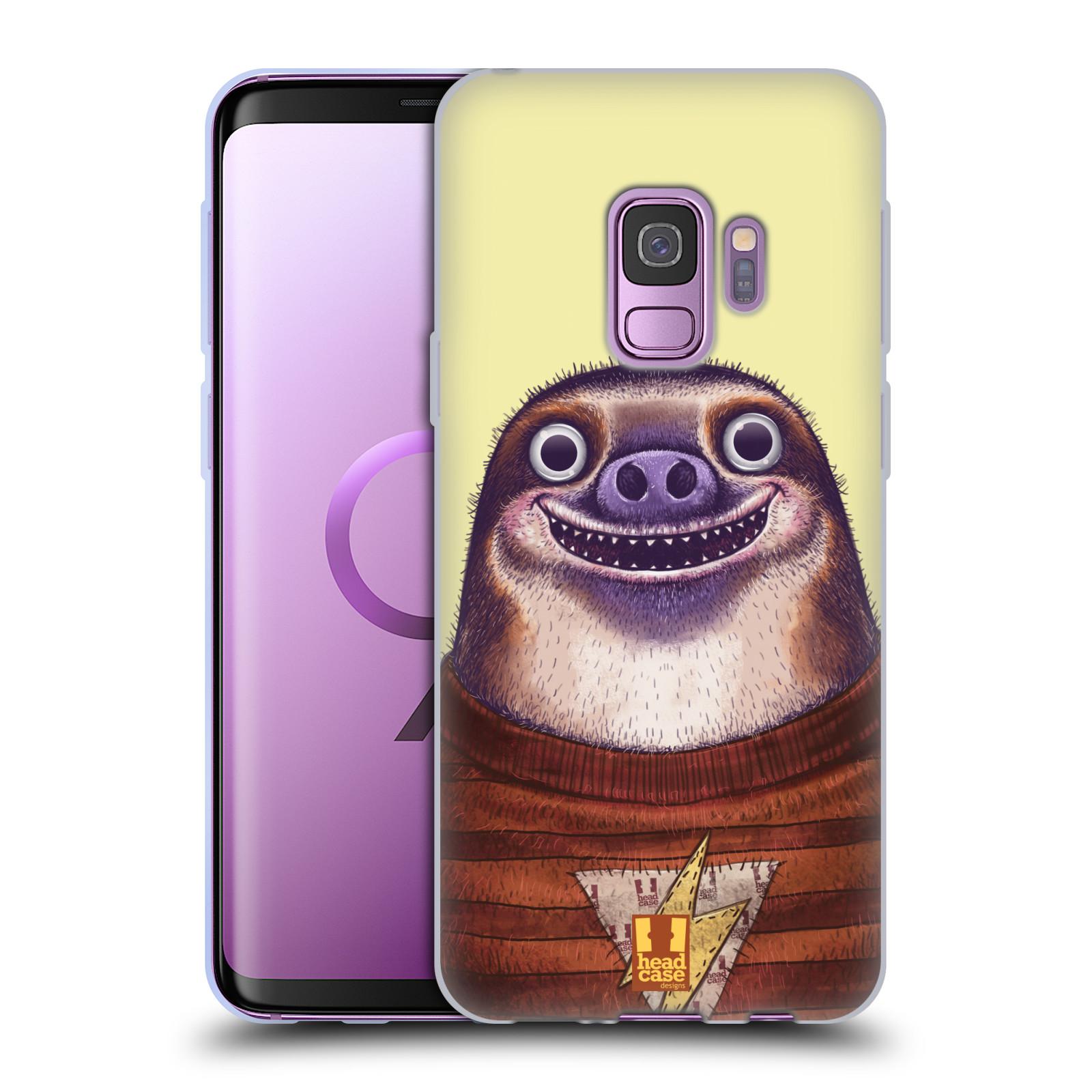Silikonové pouzdro na mobil Samsung Galaxy S9 - Head Case - ANIMPLA LENOCHOD