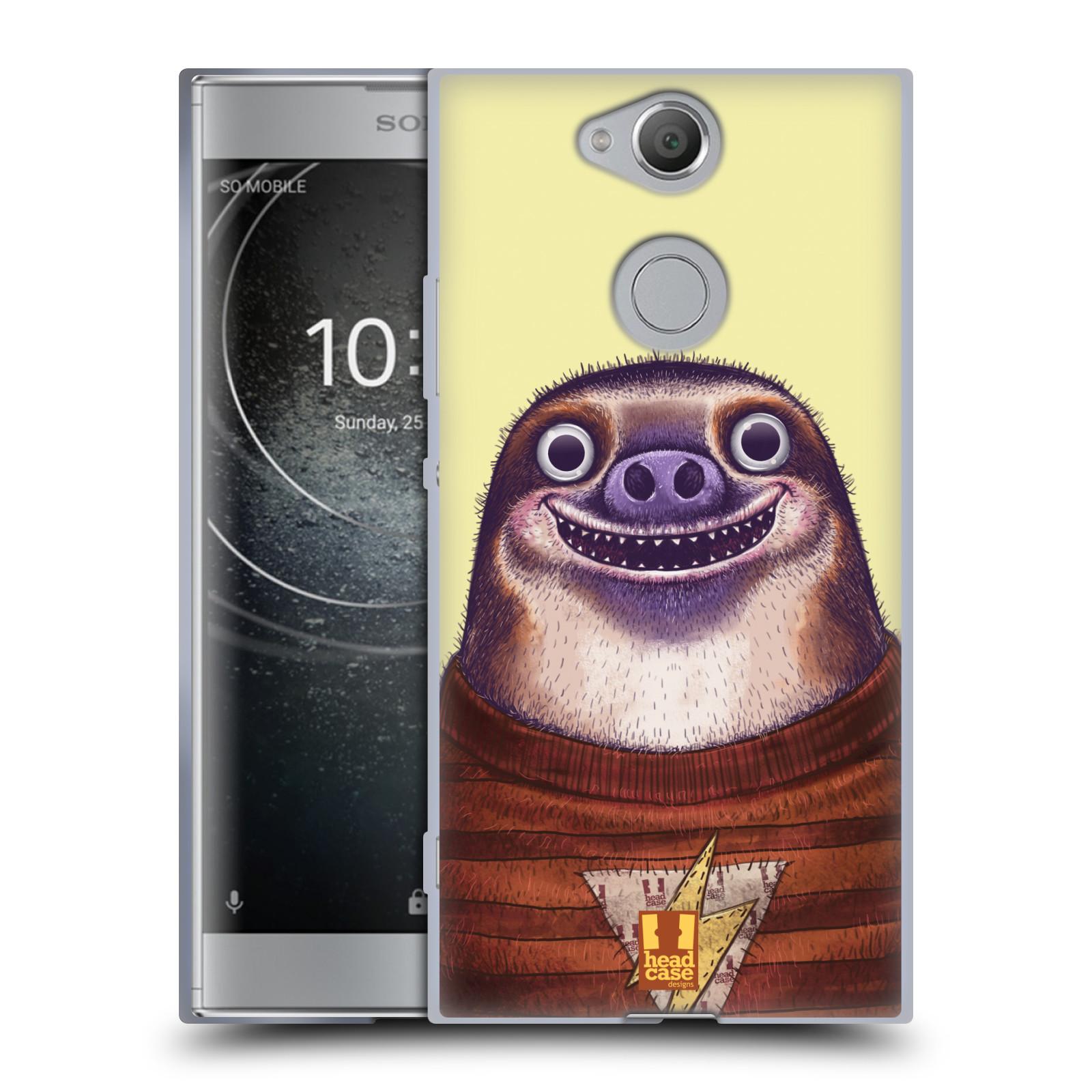 Silikonové pouzdro na mobil Sony Xperia XA2 - Head Case - ANIMPLA LENOCHOD