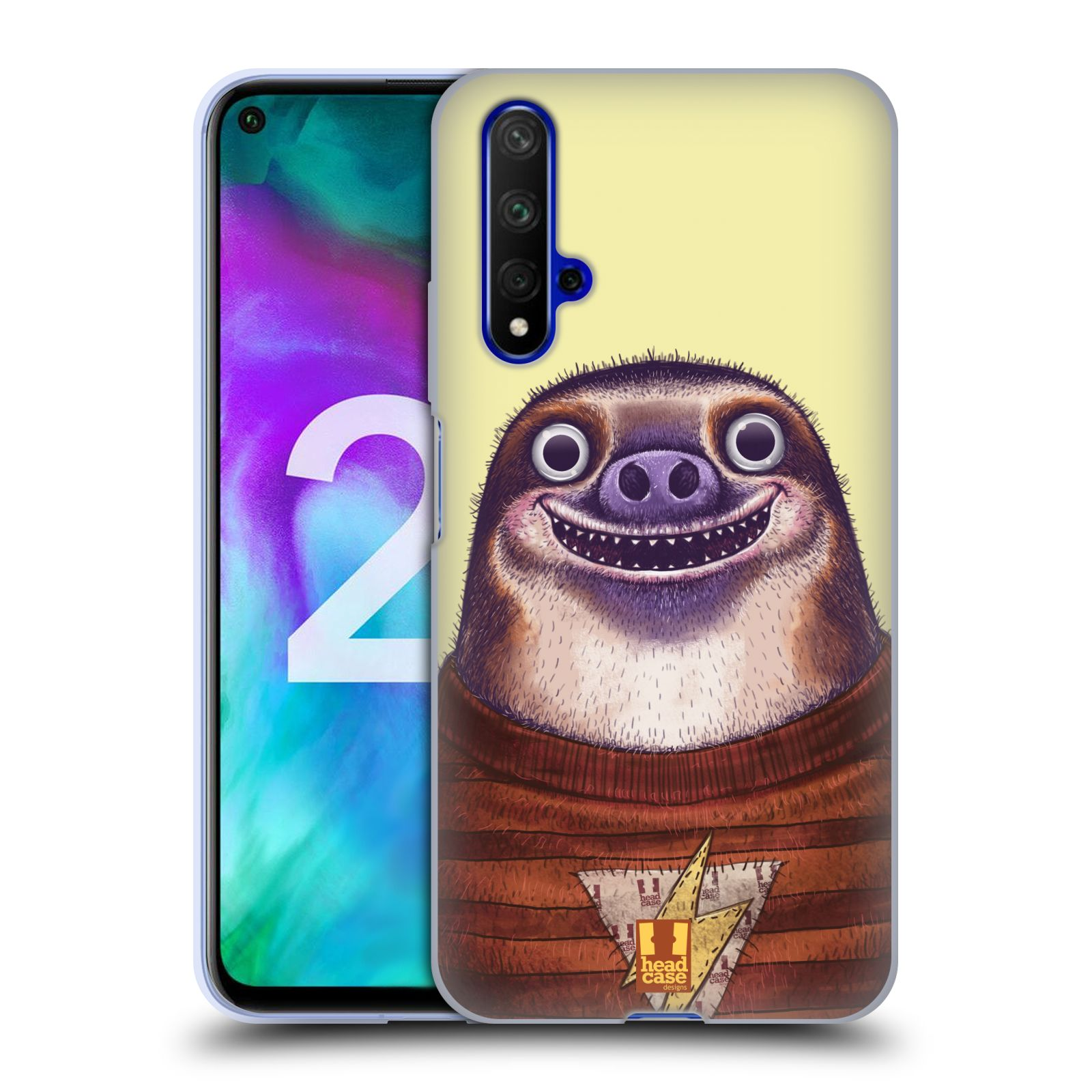Silikonové pouzdro na mobil Honor 20 - Head Case - ANIMPLA LENOCHOD