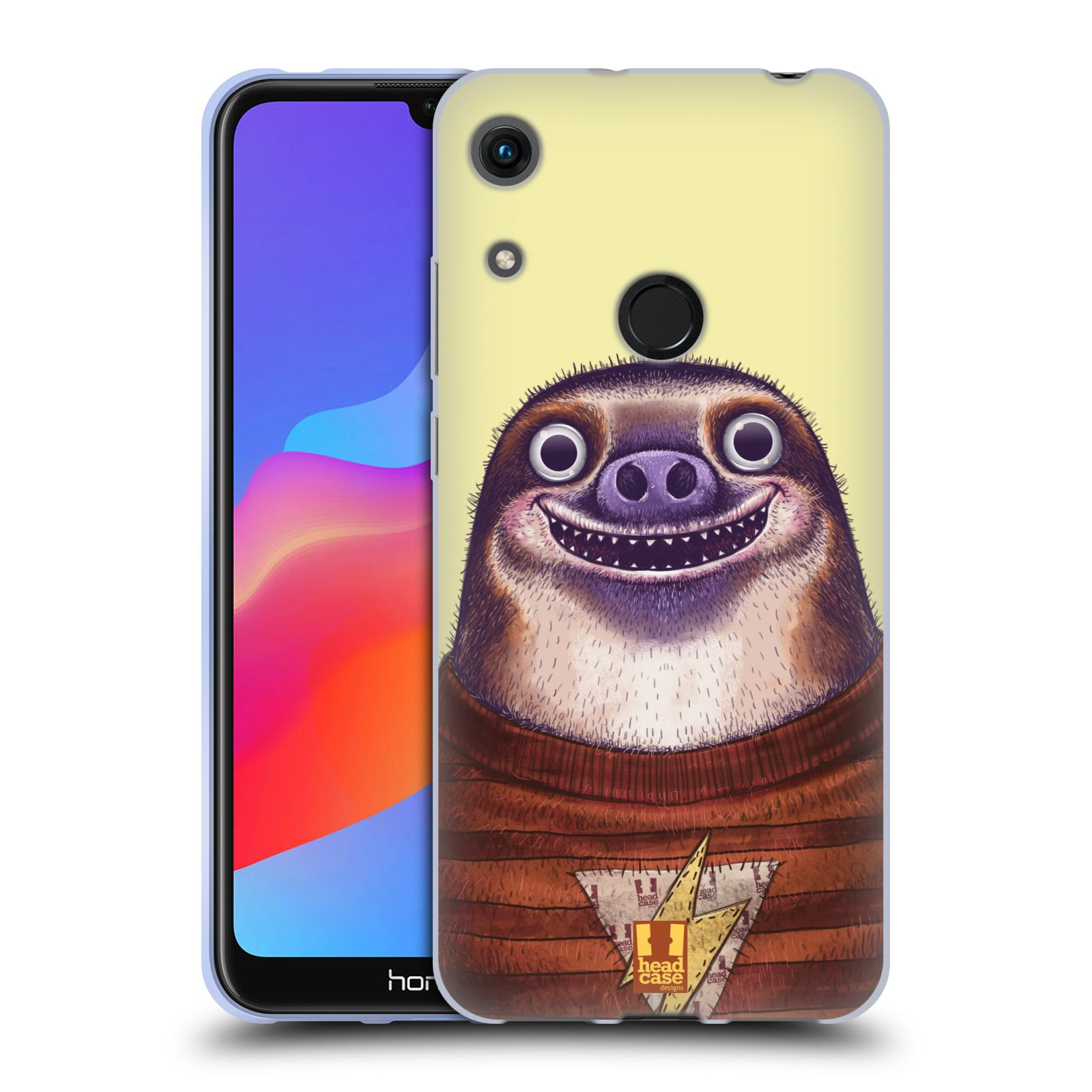 Silikonové pouzdro na mobil Honor 8A - Head Case - ANIMPLA LENOCHOD