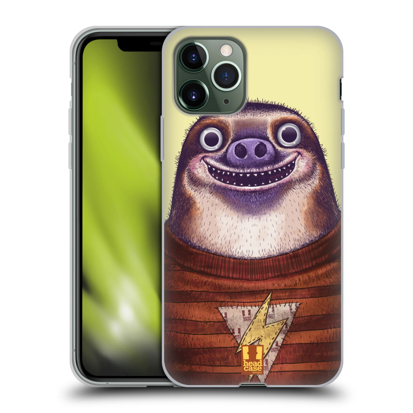 gucci iphone x cover india , Silikonové pouzdro na mobil Apple iPhone 11 Pro - Head Case - ANIMPLA LENOCHOD