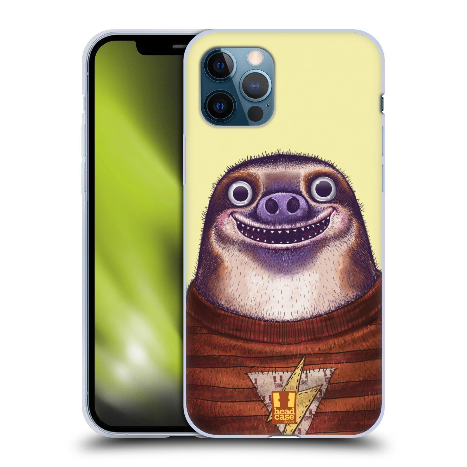 Silikonové pouzdro na mobil Apple iPhone 12 / 12 Pro - Head Case - ANIMPLA LENOCHOD