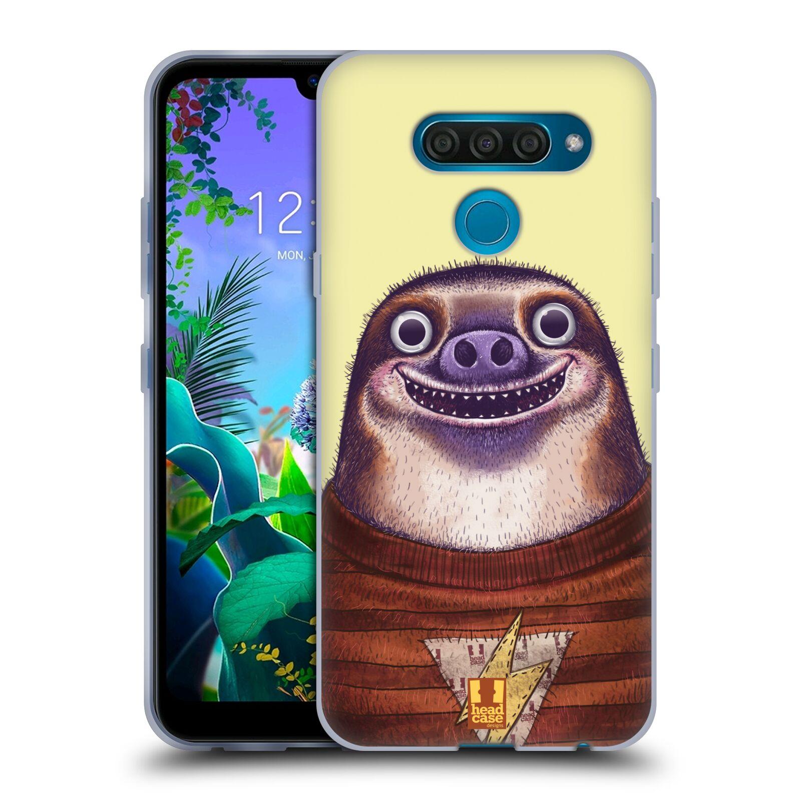 Silikonové pouzdro na mobil LG Q60 - Head Case - ANIMPLA LENOCHOD