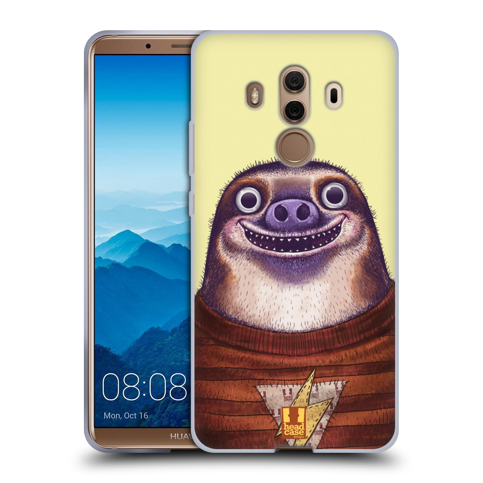 Silikonové pouzdro na mobil Huawei Mate 10 Pro - Head Case - ANIMPLA LENOCHOD