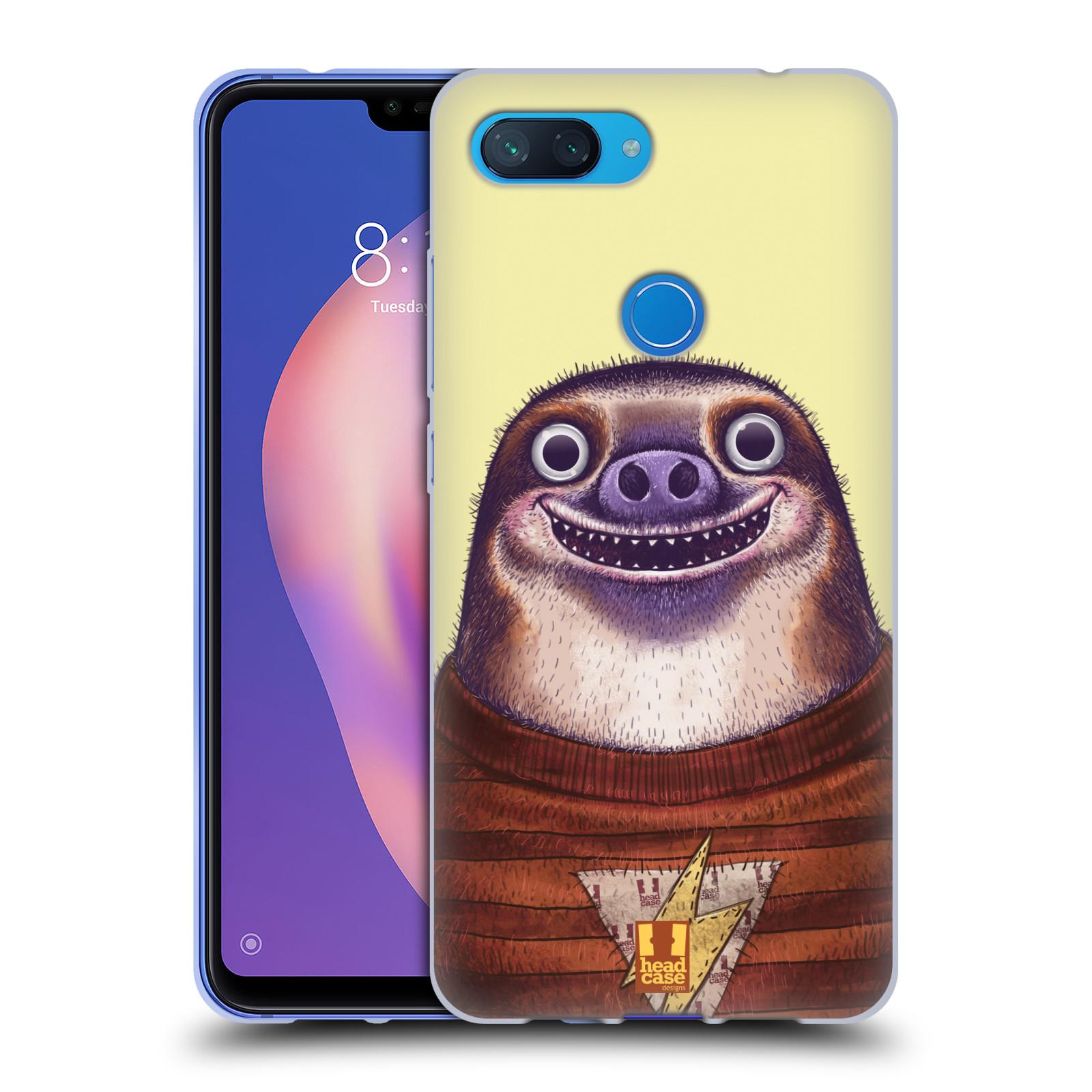 Silikonové pouzdro na mobil Xiaomi Mi 8 Lite - Head Case - ANIMPLA LENOCHOD