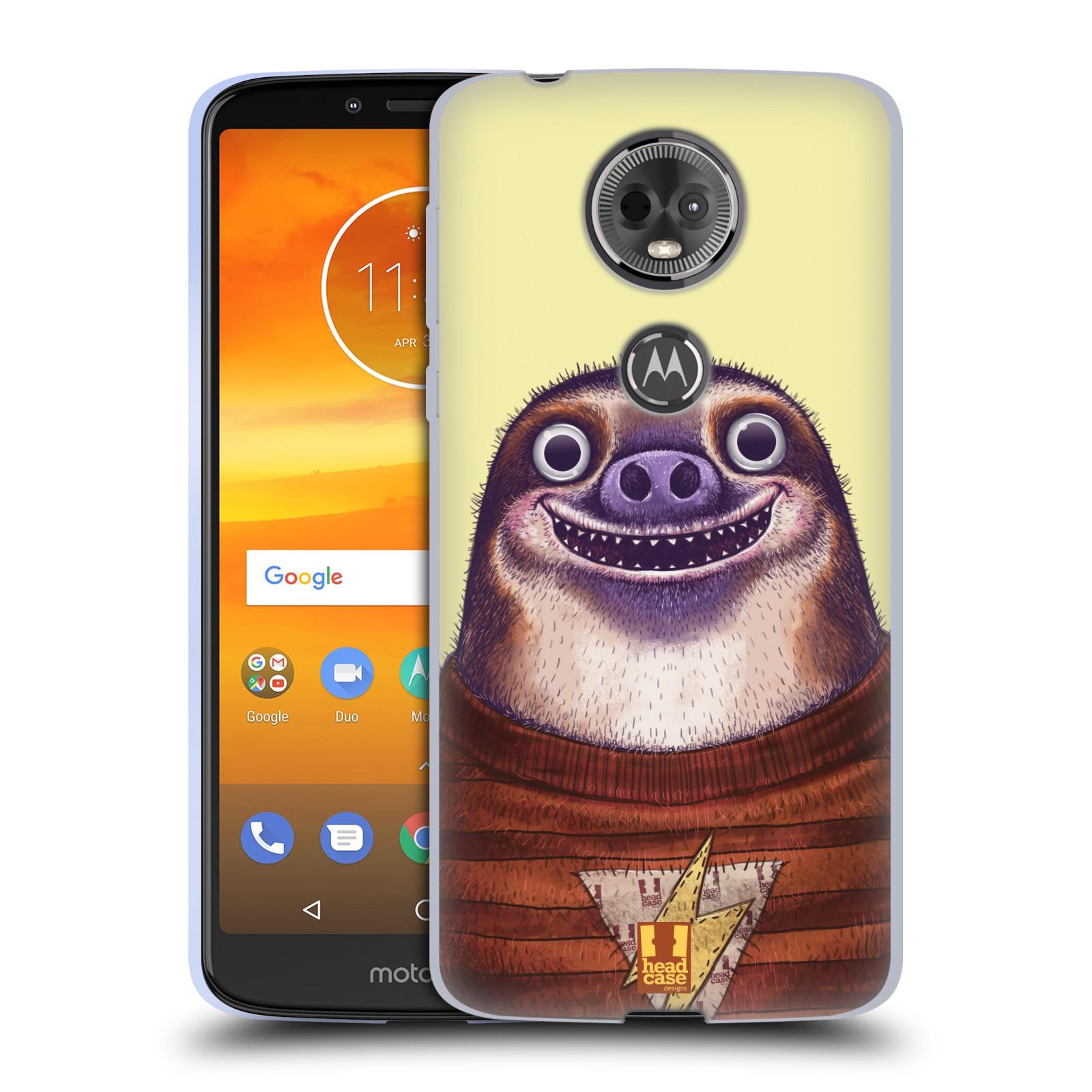 Silikonové pouzdro na mobil Motorola Moto E5 Plus - Head Case - ANIMPLA LENOCHOD
