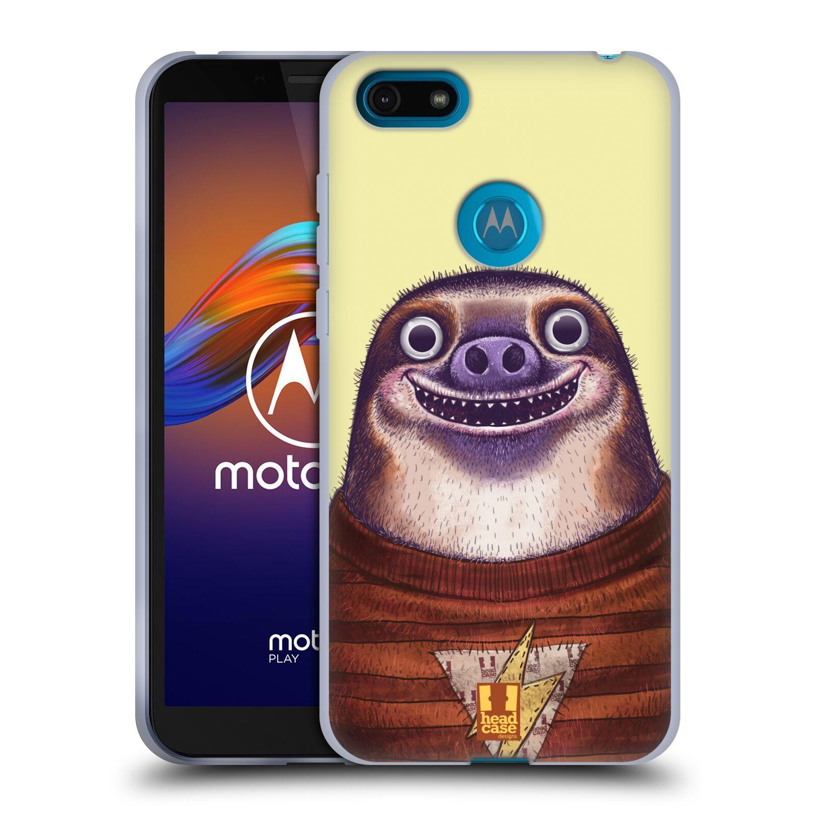 Silikonové pouzdro na mobil Motorola Moto E6 Play - Head Case - ANIMPLA LENOCHOD