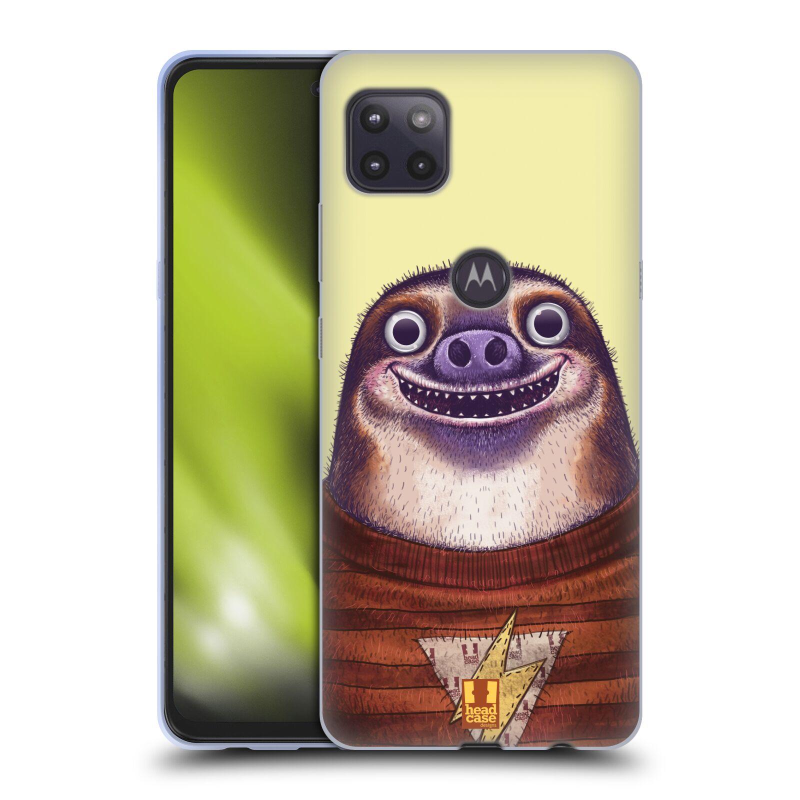 Silikonové pouzdro na mobil Motorola Moto G 5G - Head Case - ANIMPLA LENOCHOD