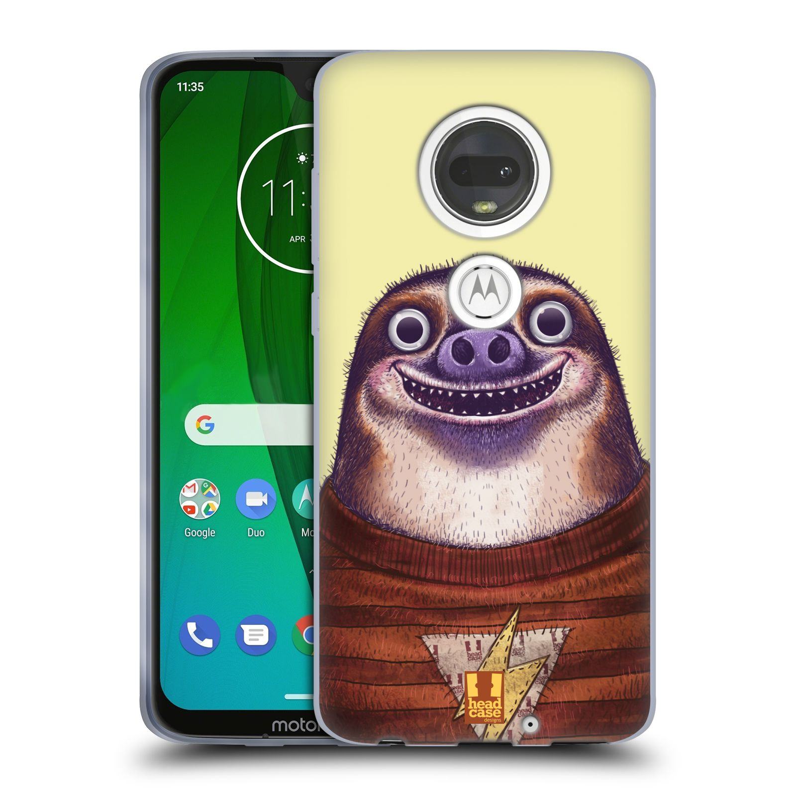 Silikonové pouzdro na mobil Motorola Moto G7 - Head Case - ANIMPLA LENOCHOD