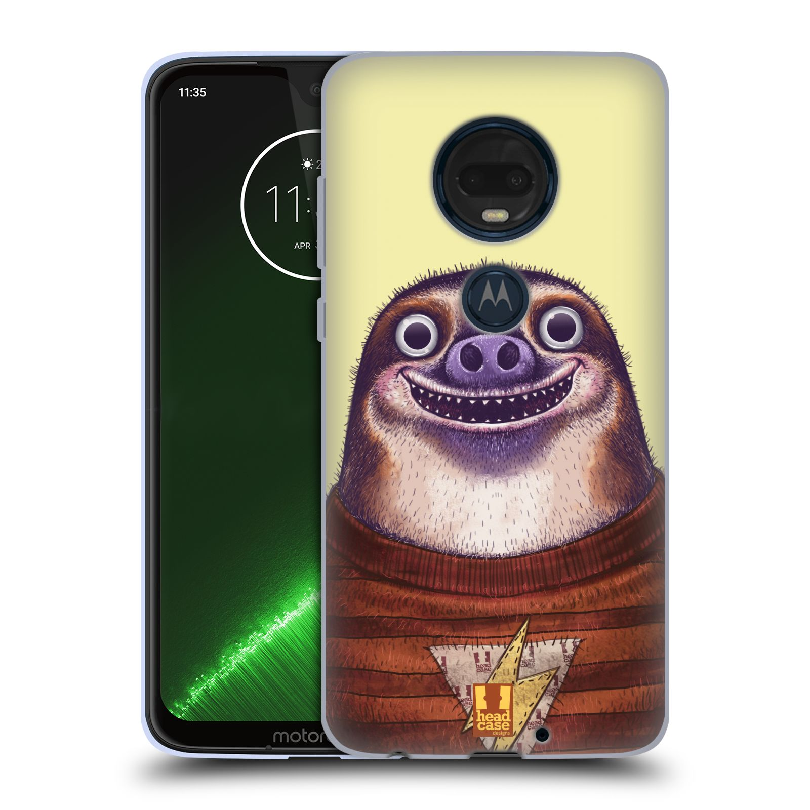Silikonové pouzdro na mobil Motorola Moto G7 Plus - Head Case - ANIMPLA LENOCHOD