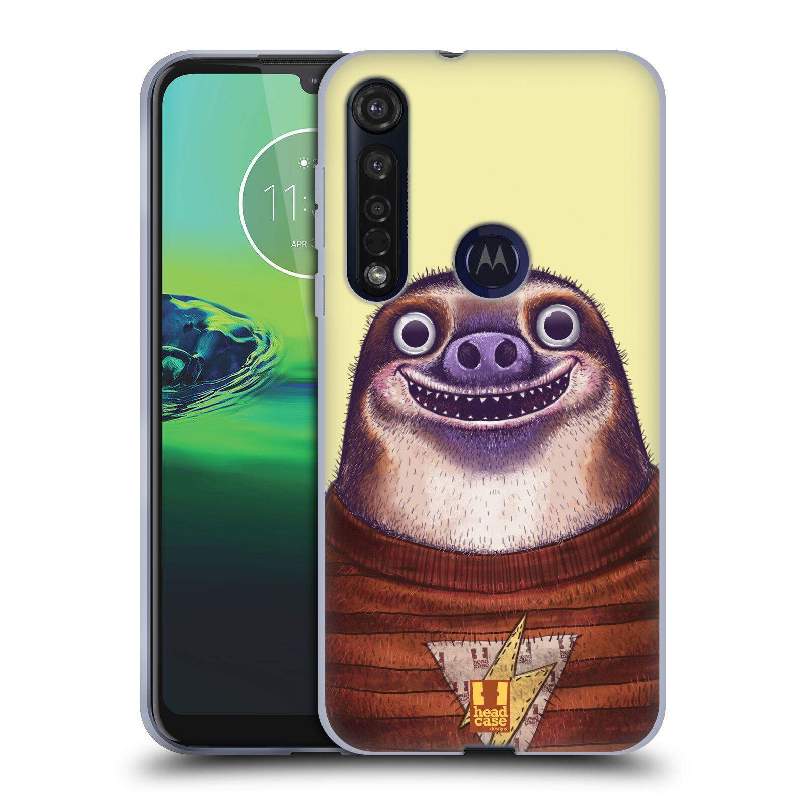 Silikonové pouzdro na mobil Motorola Moto G8 Plus - Head Case - ANIMPLA LENOCHOD