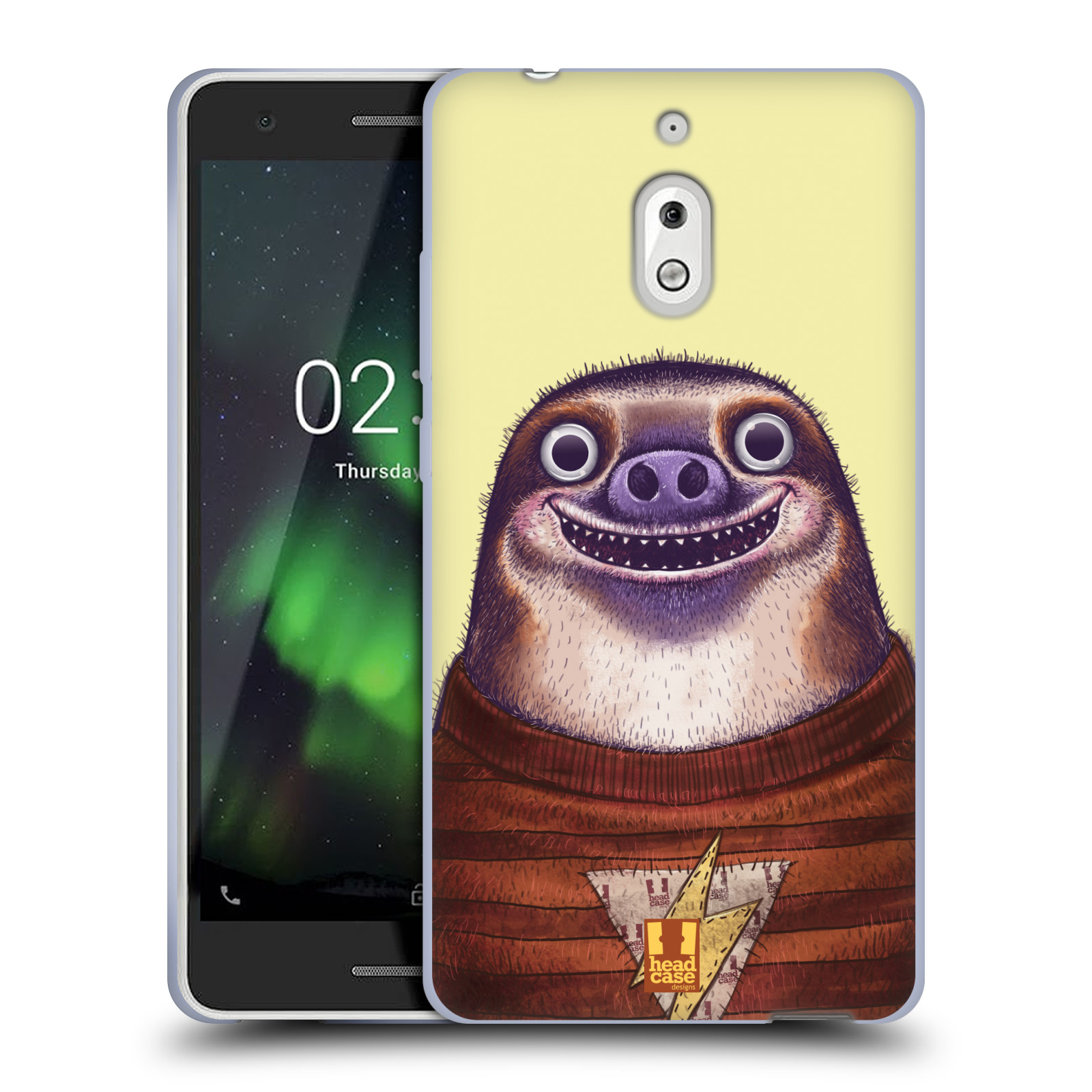 Silikonové pouzdro na mobil Nokia 2.1 - Head Case - ANIMPLA LENOCHOD