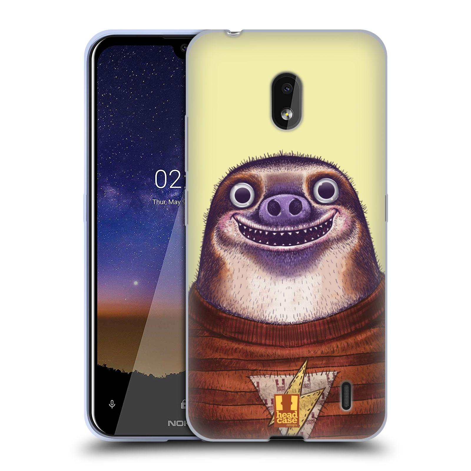 Silikonové pouzdro na mobil Nokia 2.2 - Head Case - ANIMPLA LENOCHOD