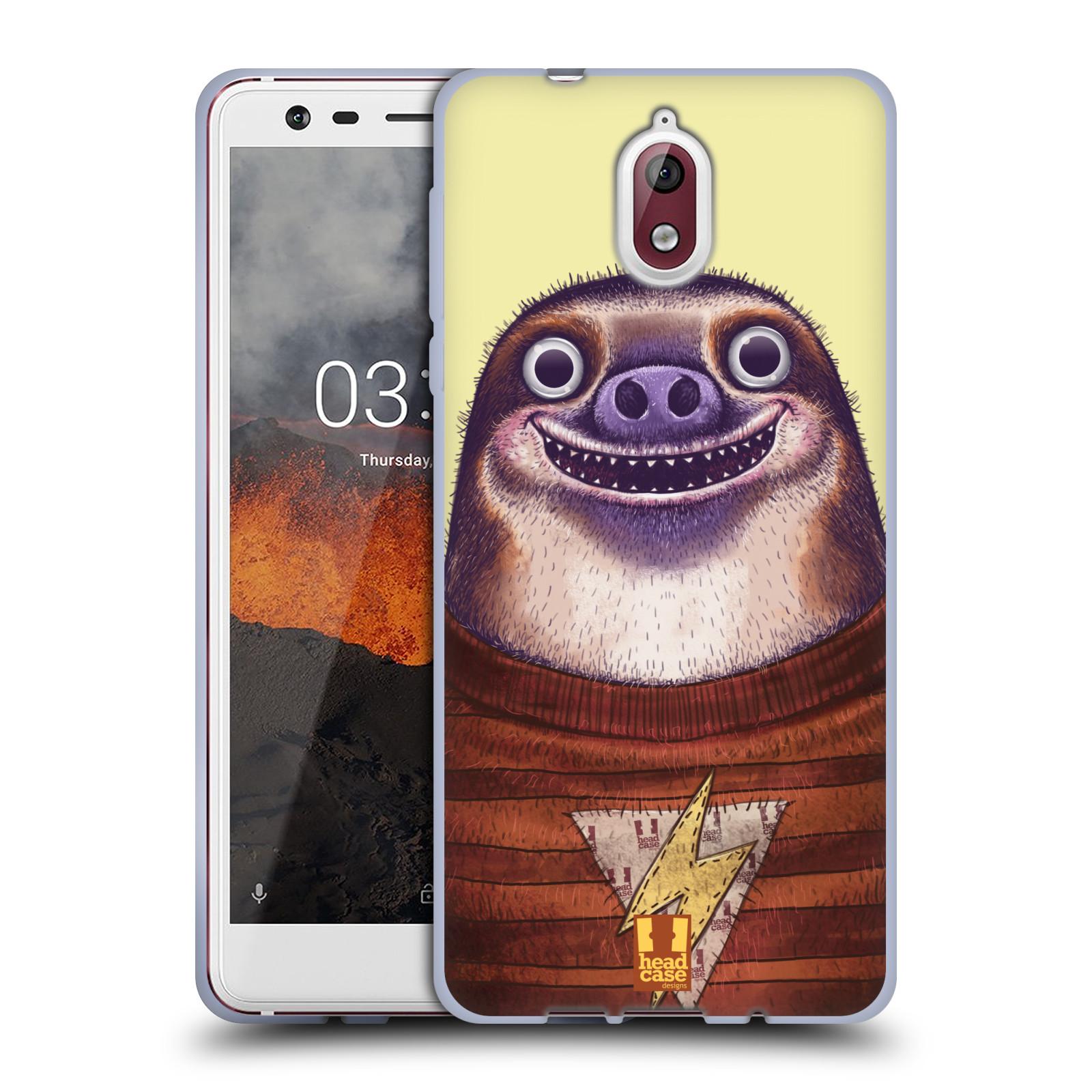 Silikonové pouzdro na mobil Nokia 3.1 - Head Case - ANIMPLA LENOCHOD