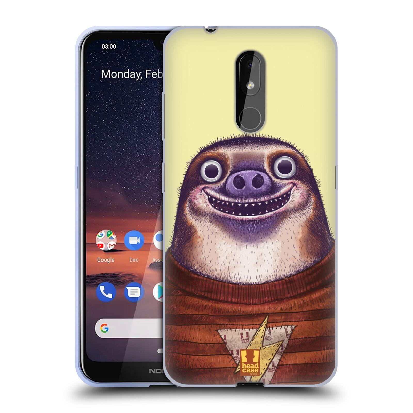 Silikonové pouzdro na mobil Nokia 3.2 - Head Case - ANIMPLA LENOCHOD