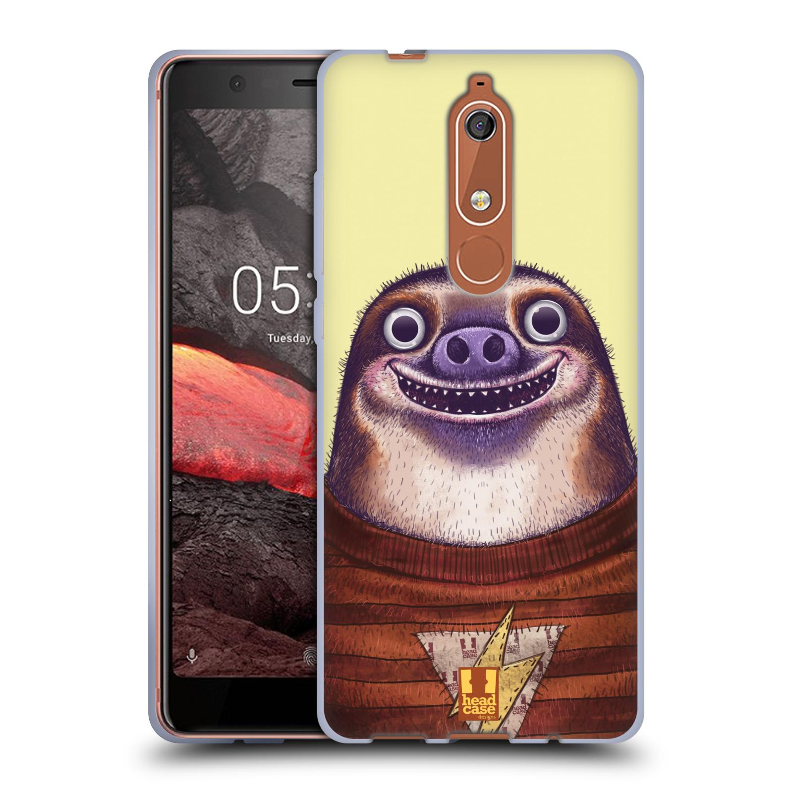 Silikonové pouzdro na mobil Nokia 5.1 - Head Case - ANIMPLA LENOCHOD