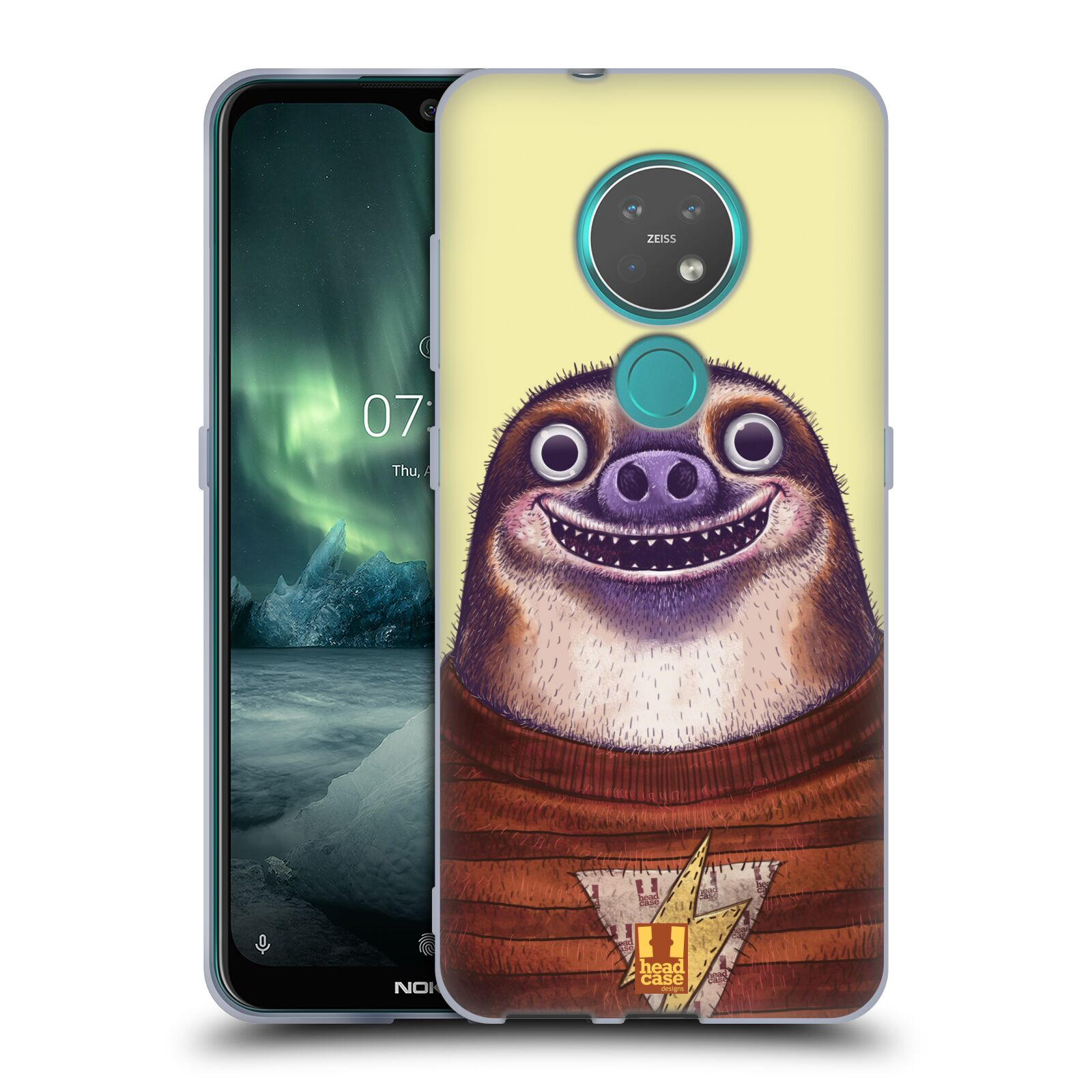 Silikonové pouzdro na mobil Nokia 7.2 - Head Case - ANIMPLA LENOCHOD