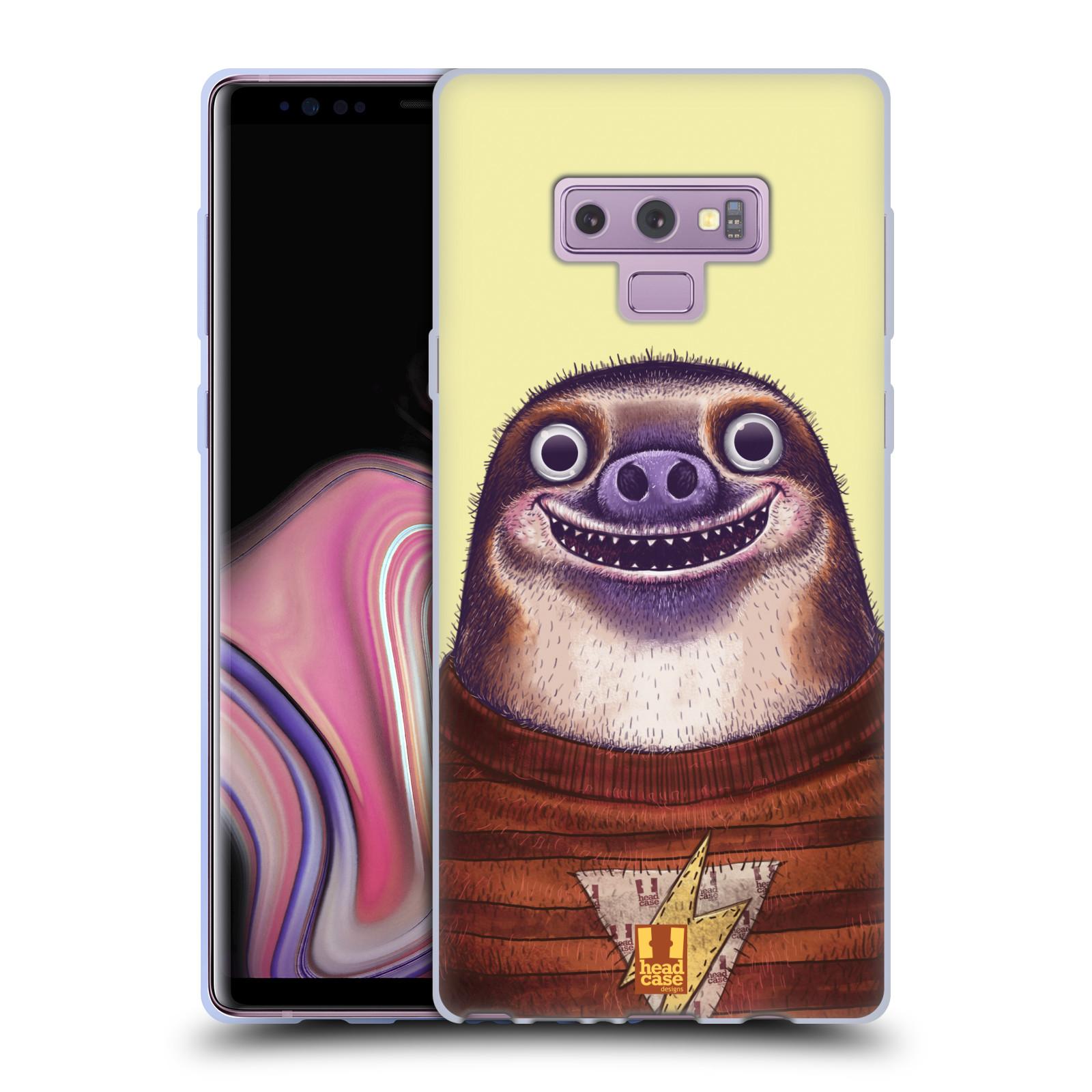 Silikonové pouzdro na mobil Samsung Galaxy Note 9 - Head Case - ANIMPLA LENOCHOD