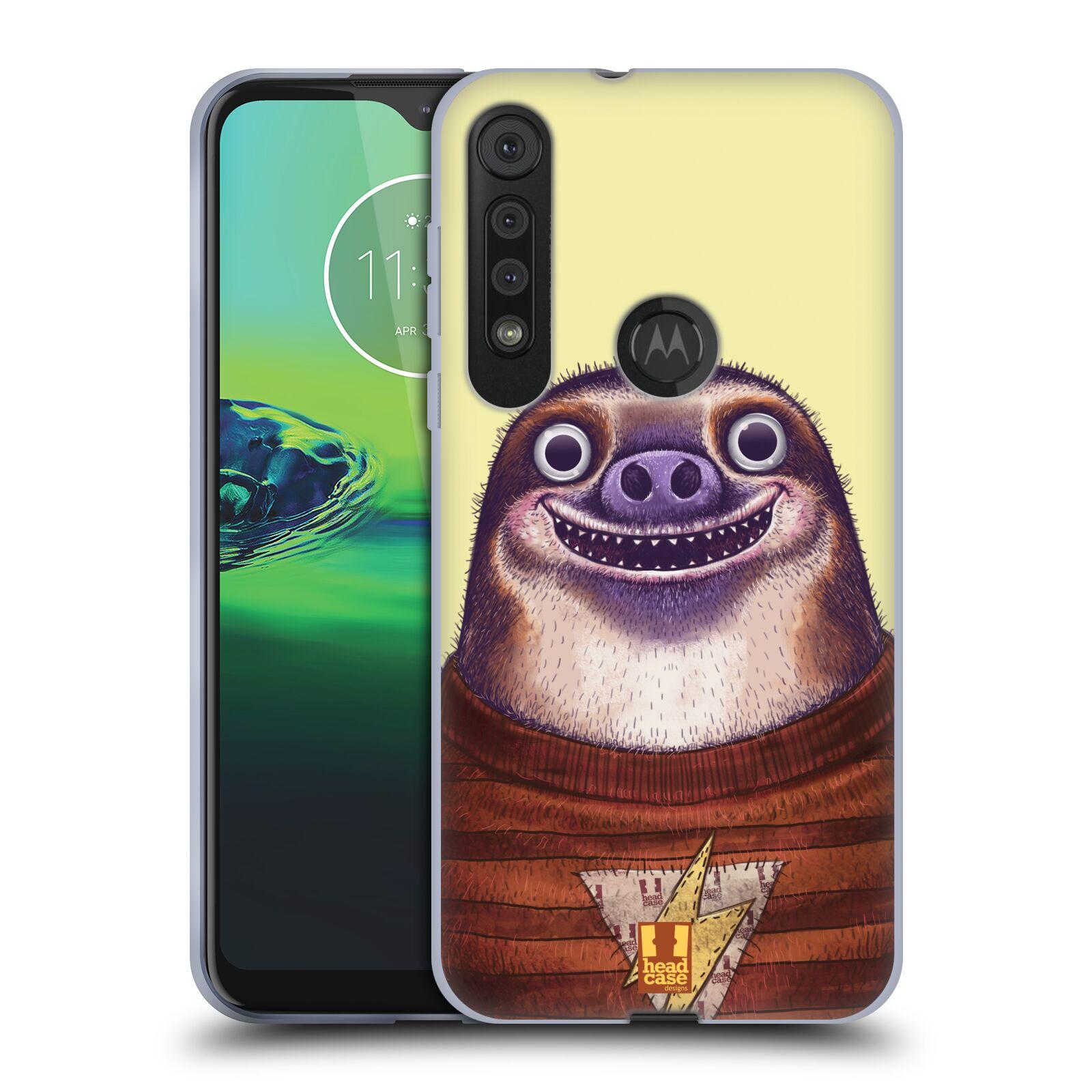 Silikonové pouzdro na mobil Motorola One Macro - Head Case - ANIMPLA LENOCHOD