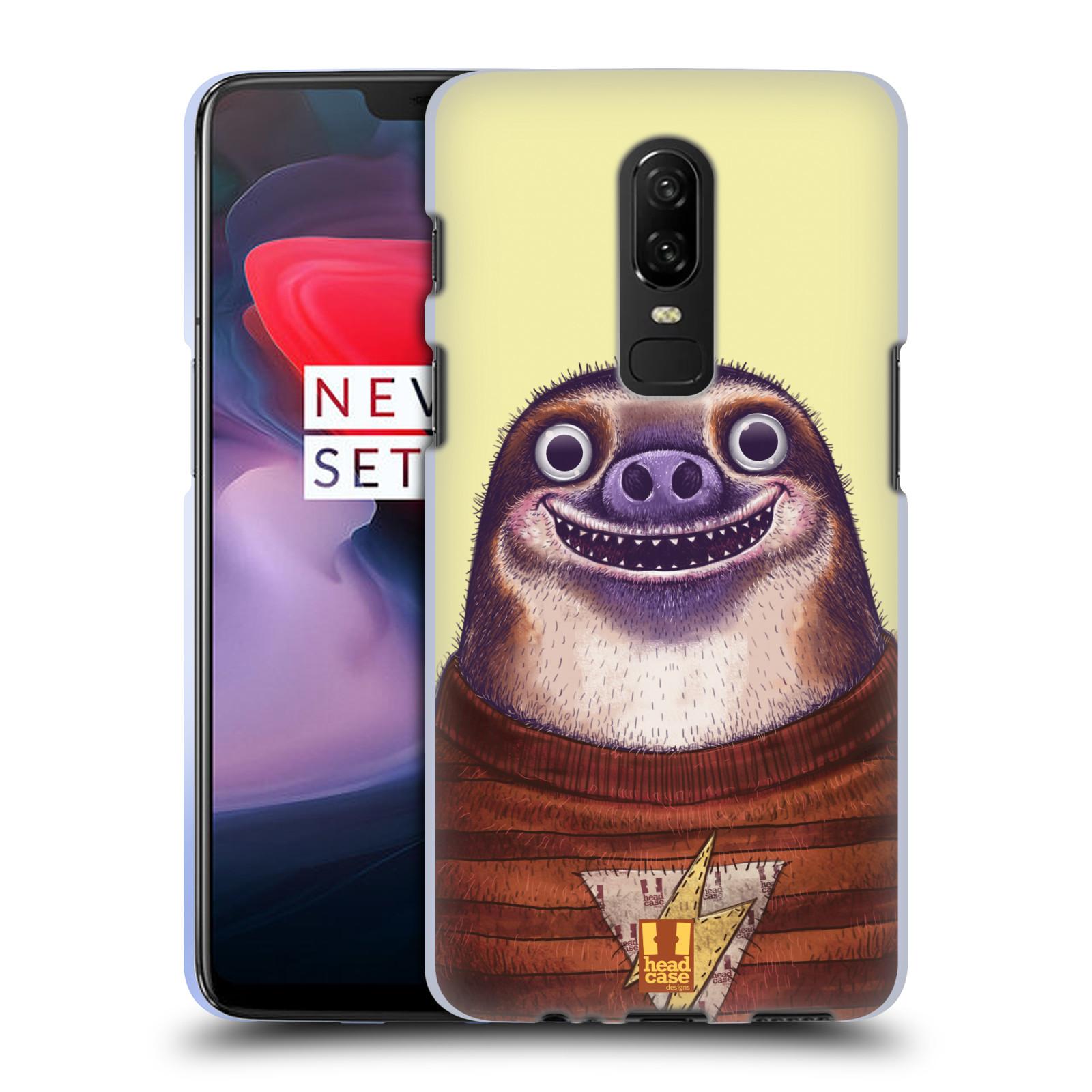 Silikonové pouzdro na mobil OnePlus 6 - Head Case - ANIMPLA LENOCHOD