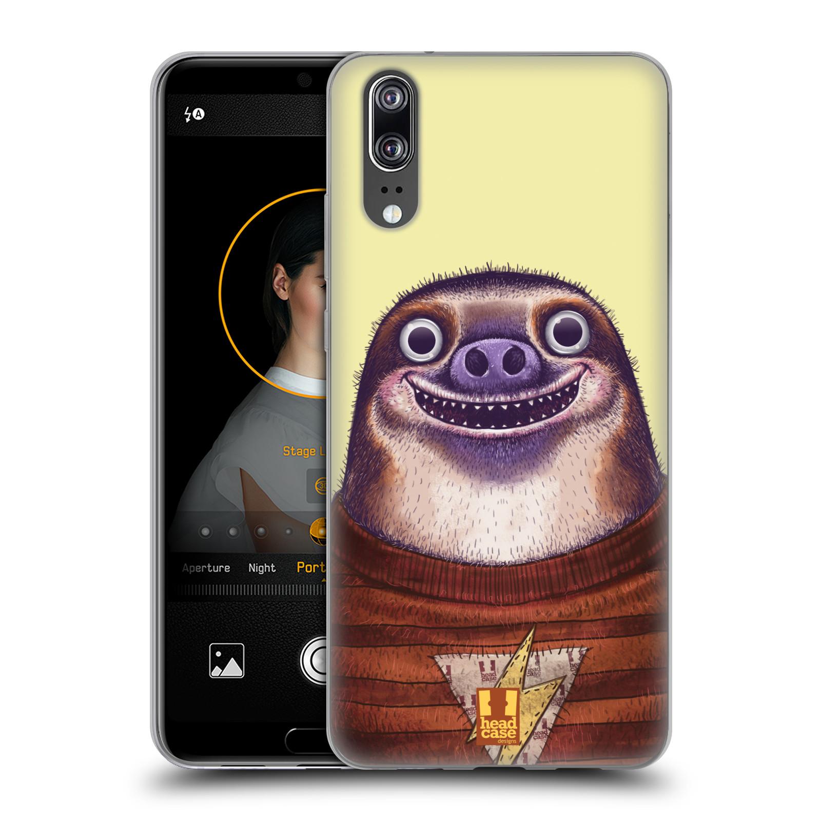 Silikonové pouzdro na mobil Huawei P20 - Head Case - ANIMPLA LENOCHOD