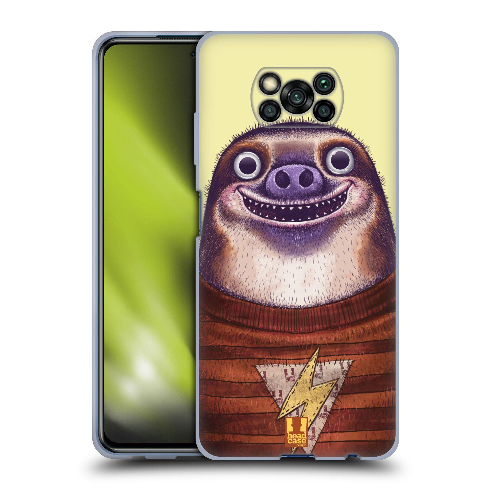 Silikonové pouzdro na mobil Xiaomi Poco X3 NFC - Head Case - ANIMPLA LENOCHOD