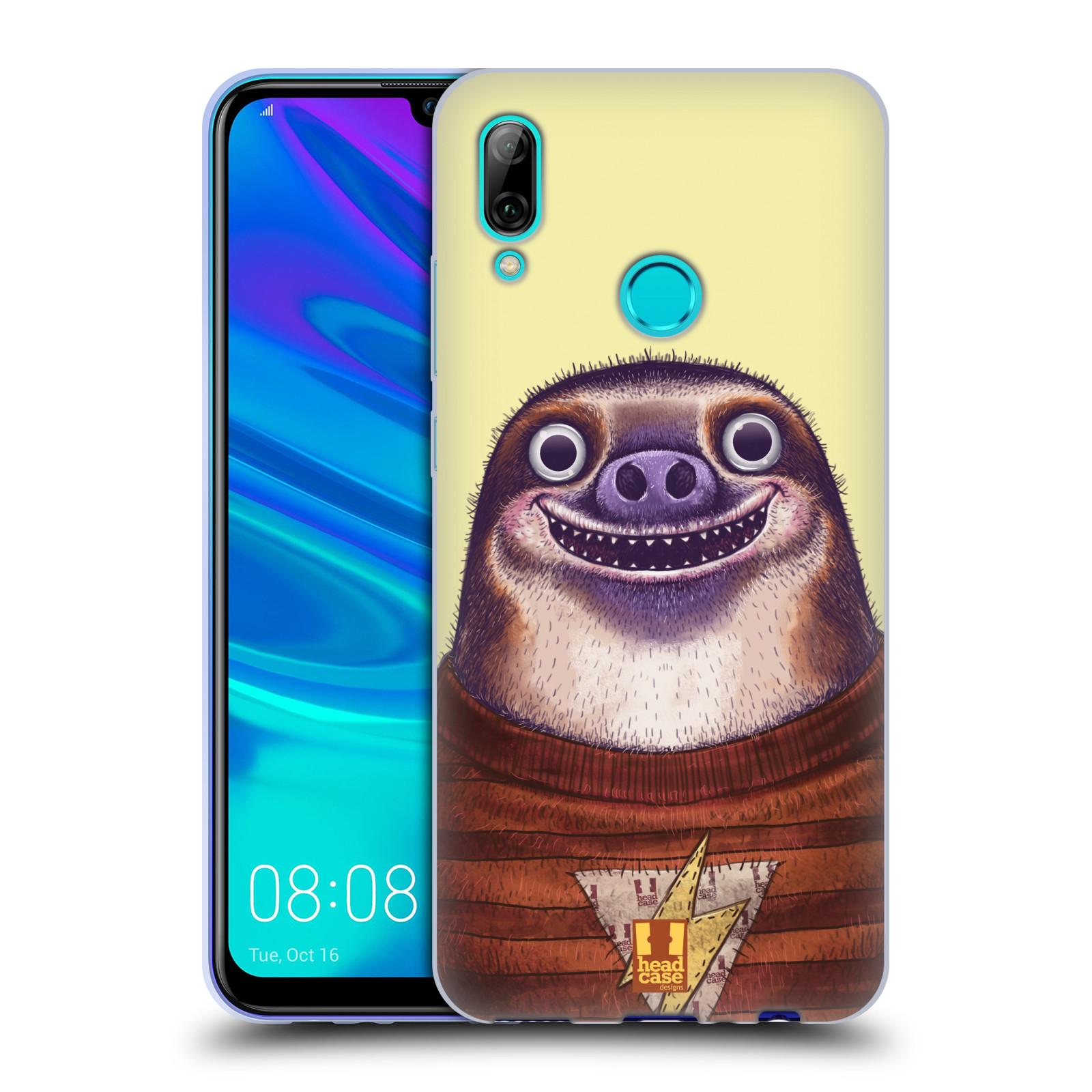 Silikonové pouzdro na mobil Huawei P Smart (2019) - Head Case - ANIMPLA LENOCHOD