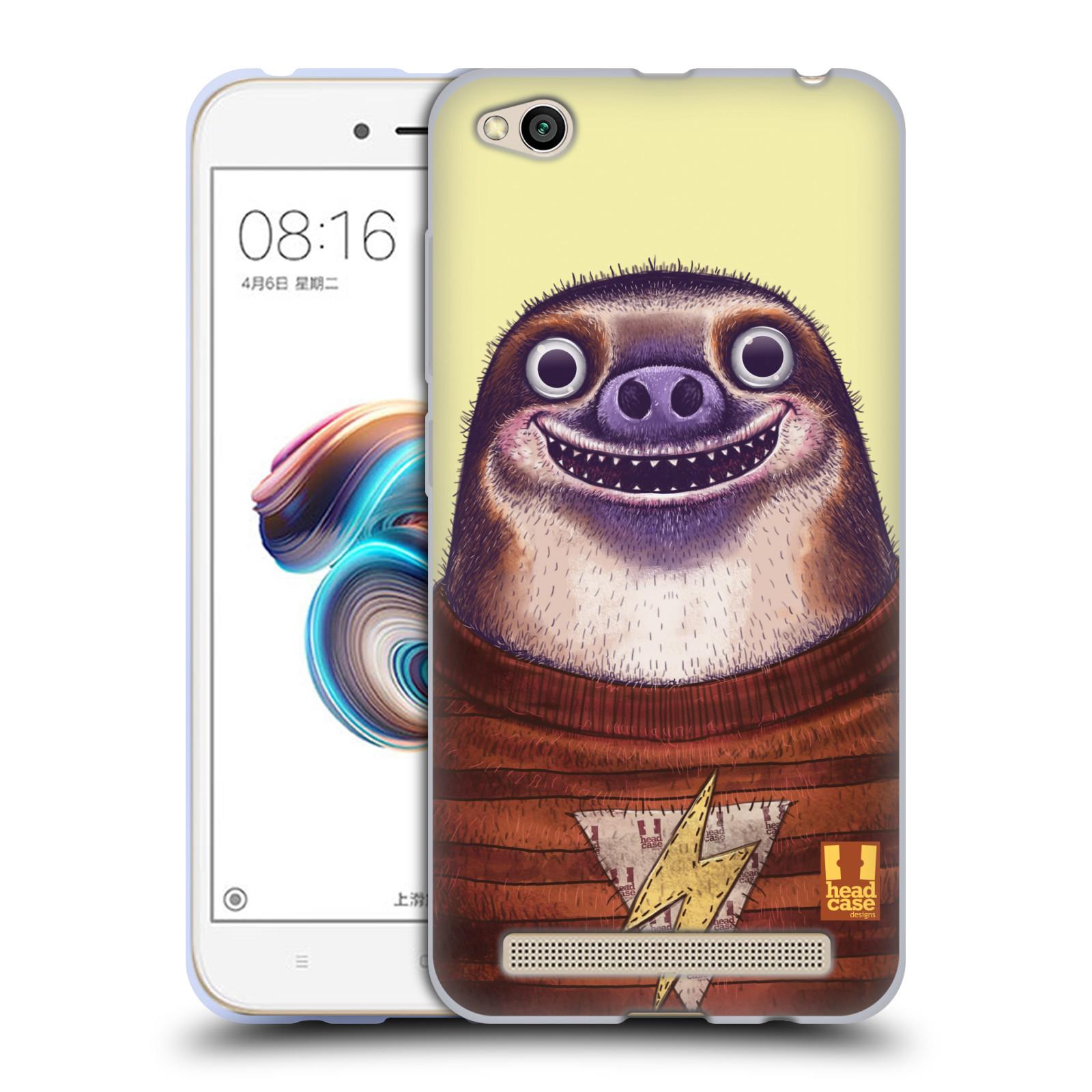 Silikonové pouzdro na mobil Xiaomi Redmi 5A - Head Case - ANIMPLA LENOCHOD