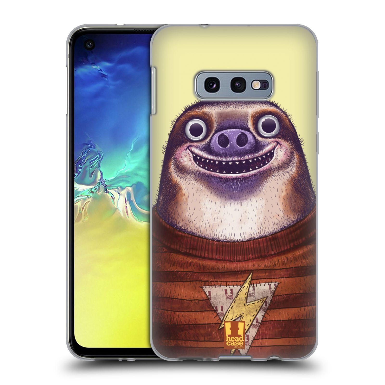 Silikonové pouzdro na mobil Samsung Galaxy S10e - Head Case - ANIMPLA LENOCHOD
