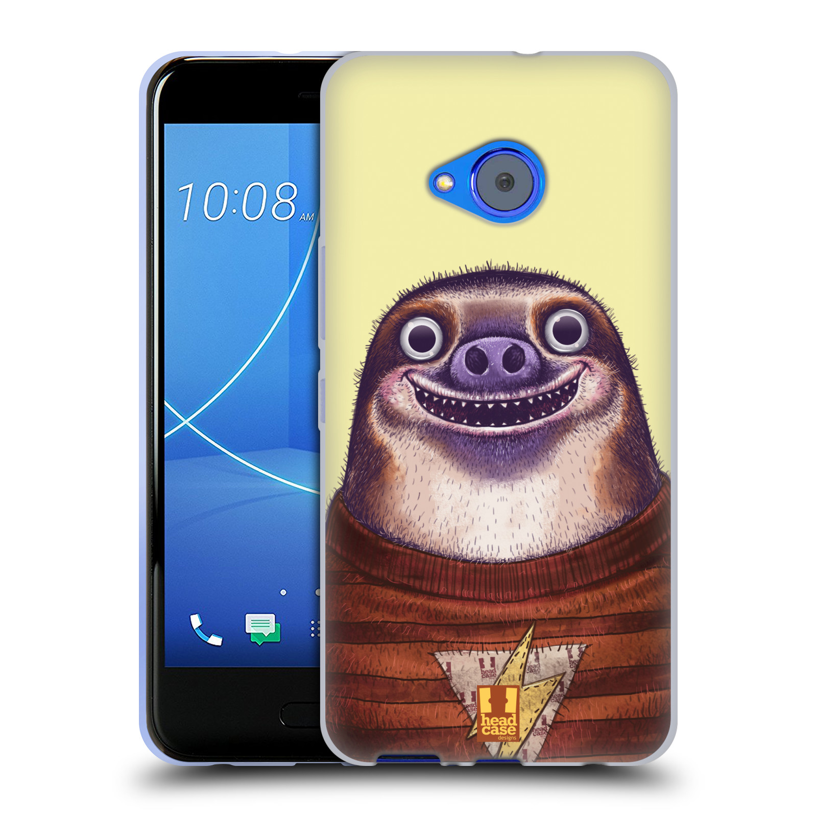 Silikonové pouzdro na mobil HTC U11 Life - Head Case - ANIMPLA LENOCHOD