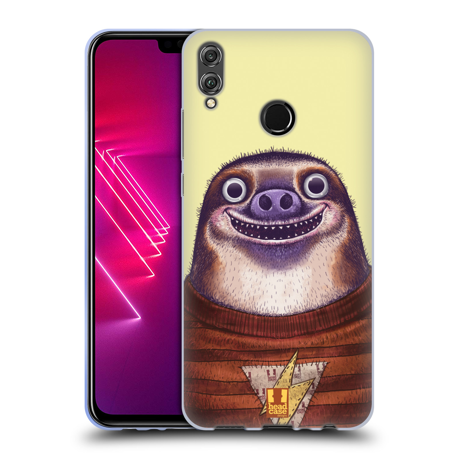 Silikonové pouzdro na mobil Honor View 10 Lite - Head Case - ANIMPLA LENOCHOD