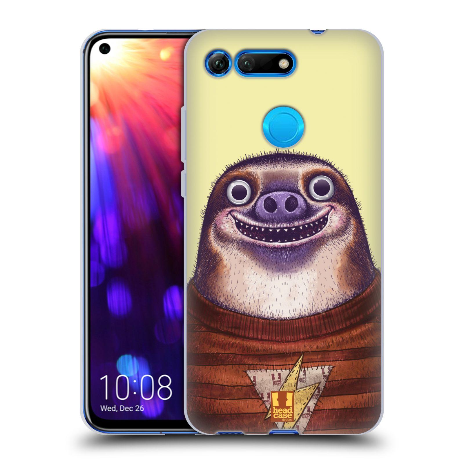 Silikonové pouzdro na mobil Honor View 20 - Head Case - ANIMPLA LENOCHOD