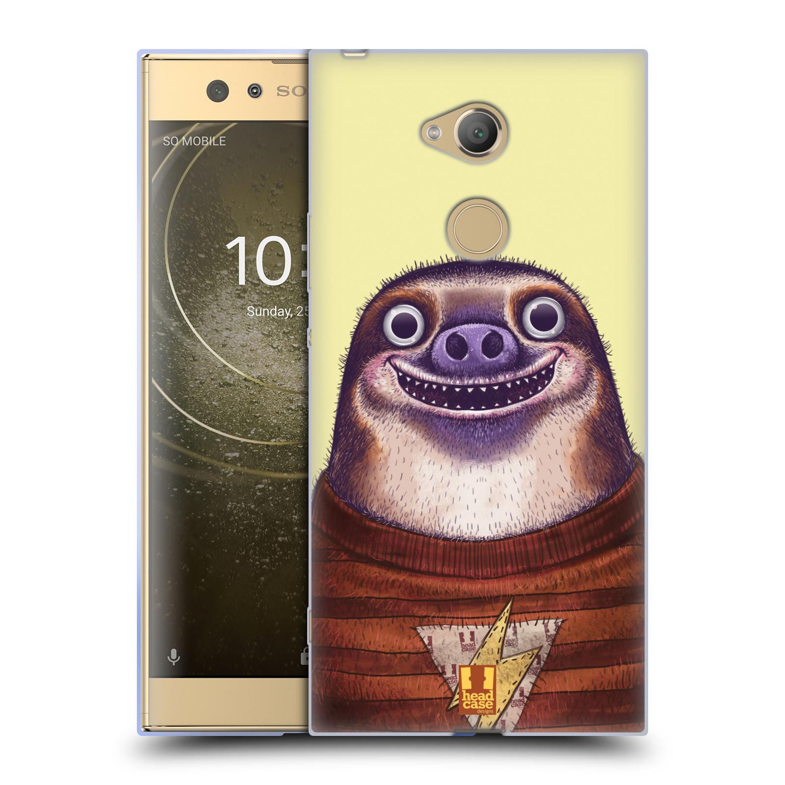 Silikonové pouzdro na mobil Sony Xperia XA2 Ultra - Head Case - ANIMPLA LENOCHOD