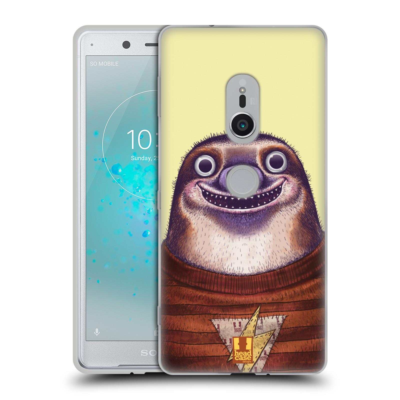 Silikonové pouzdro na mobil Sony Xperia XZ2 - Head Case - ANIMPLA LENOCHOD