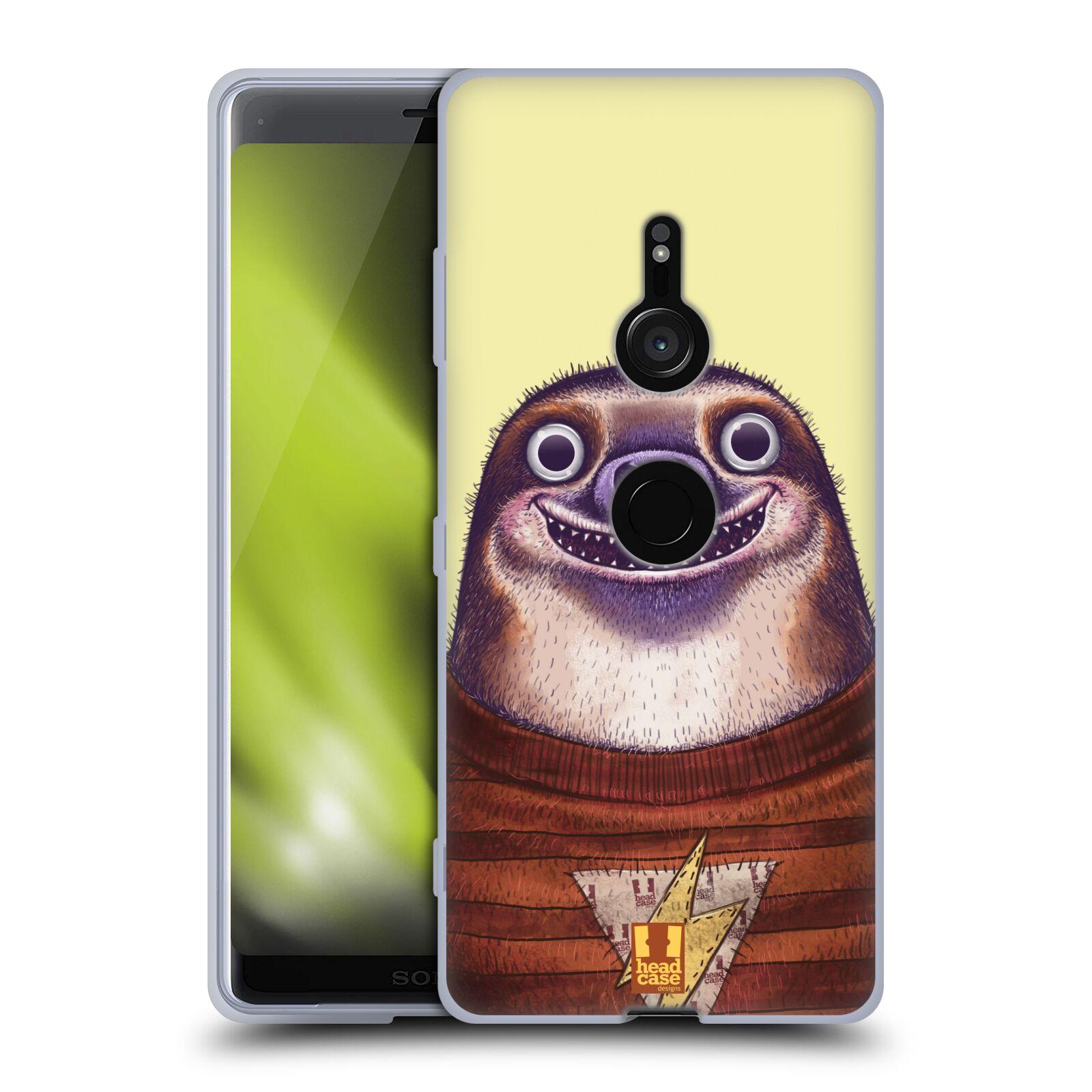 Silikonové pouzdro na mobil Sony Xperia XZ3 - Head Case - ANIMPLA LENOCHOD