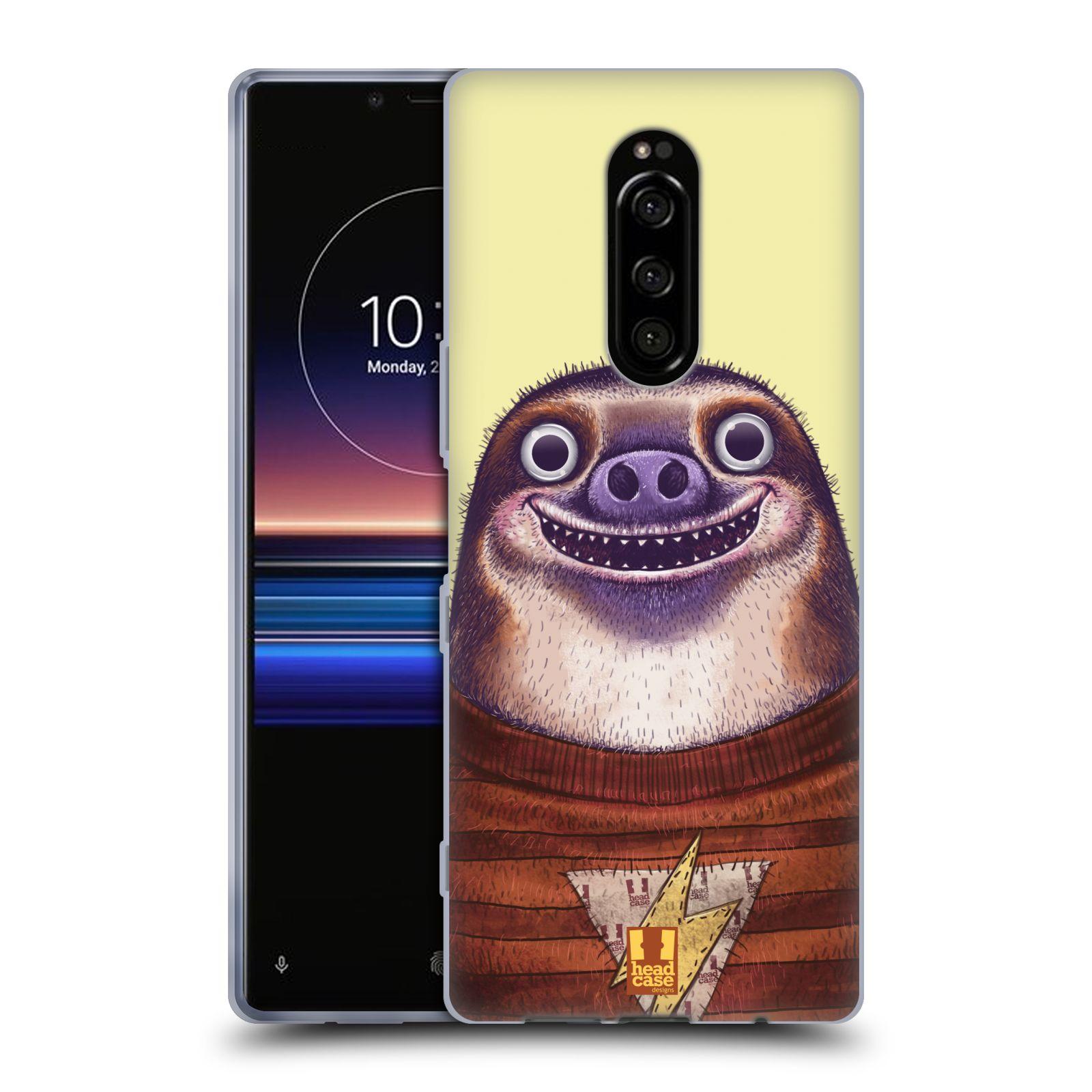 Silikonové pouzdro na mobil Sony Xperia 1 - Head Case - ANIMPLA LENOCHOD