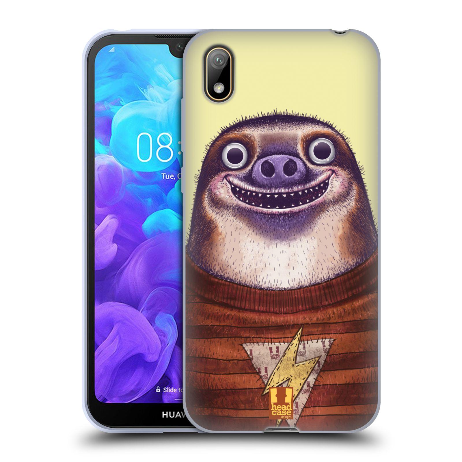 Silikonové pouzdro na mobil Huawei Y5 (2019) - Head Case - ANIMPLA LENOCHOD