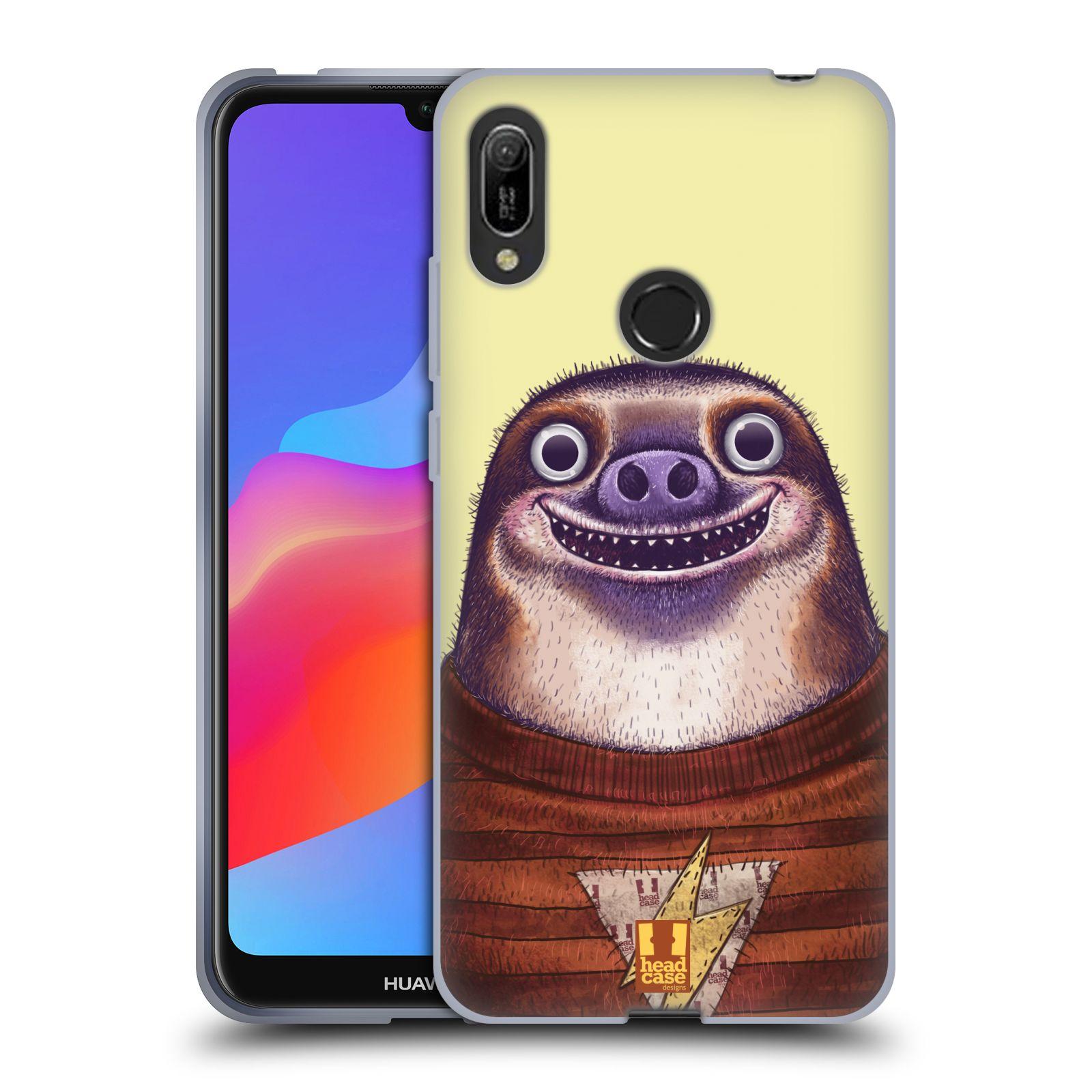 Silikonové pouzdro na mobil Huawei Y6 (2019) - Head Case - ANIMPLA LENOCHOD