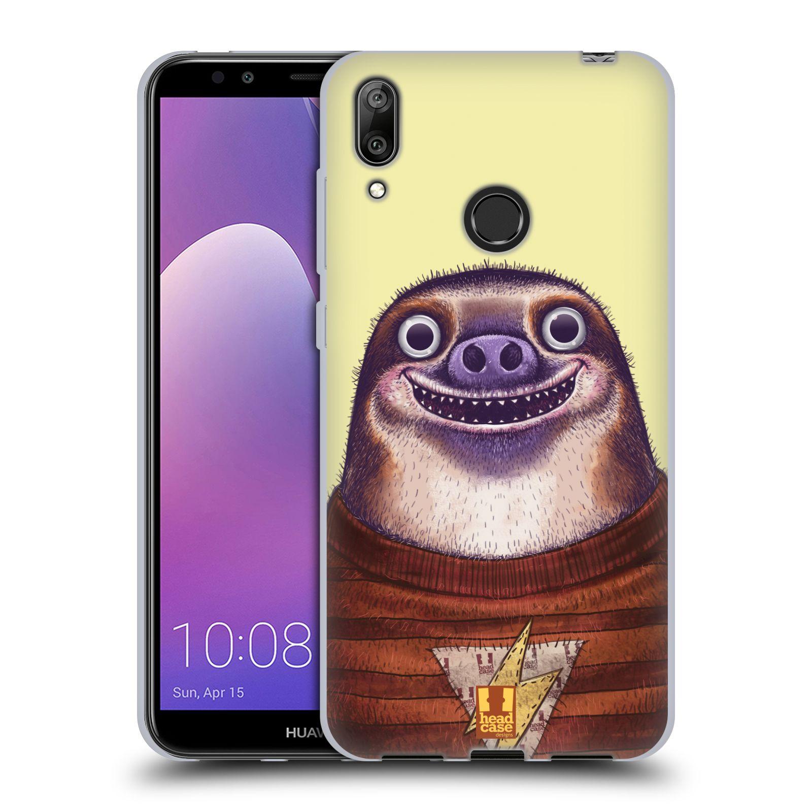 Silikonové pouzdro na mobil Huawei Y7 (2019) - Head Case - ANIMPLA LENOCHOD