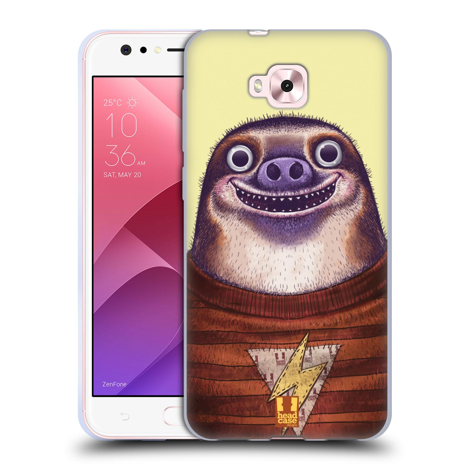 Silikonové pouzdro na mobil Asus Zenfone 4 Selfie ZD553KL - Head Case - ANIMPLA LENOCHOD