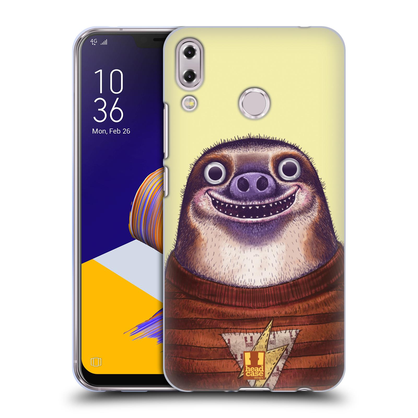 Silikonové pouzdro na mobil Asus Zenfone 5z ZS620KL - Head Case - ANIMPLA LENOCHOD