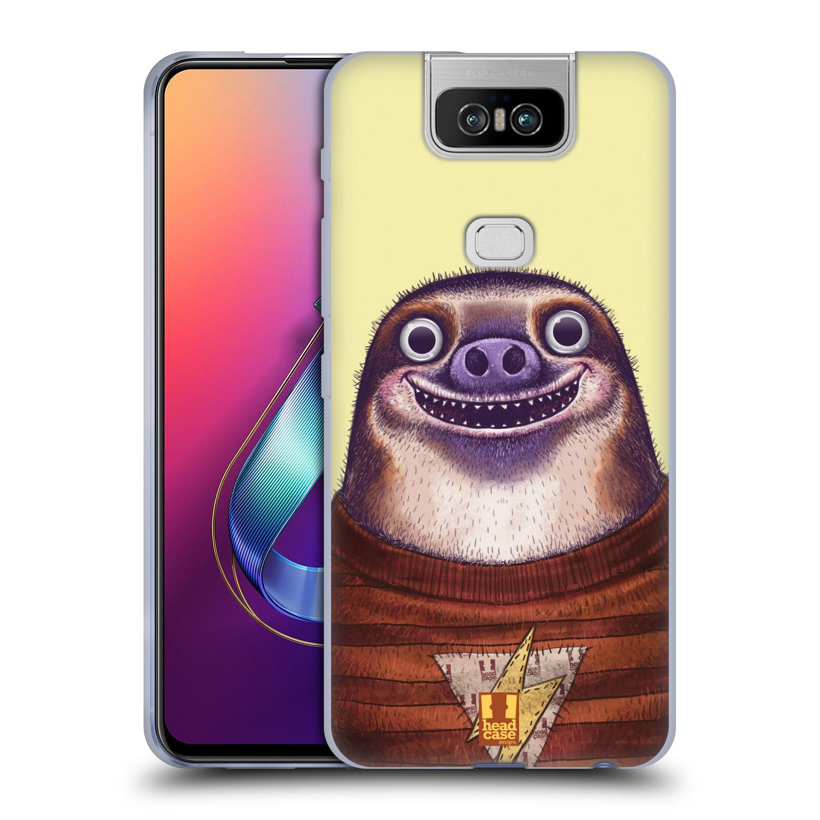 Silikonové pouzdro na mobil Asus Zenfone 6 ZS630KL - Head Case - ANIMPLA LENOCHOD