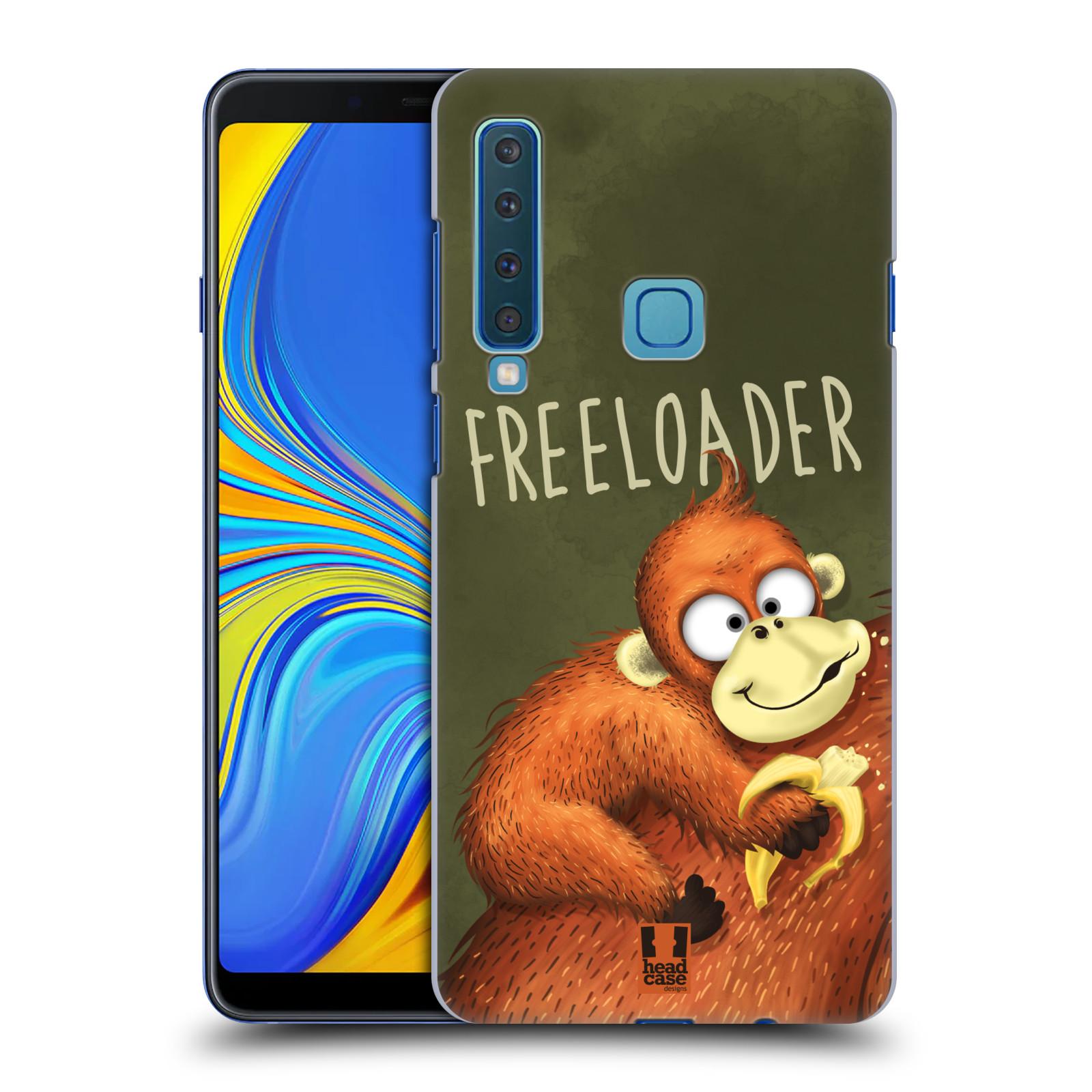 Plastové pouzdro na mobil Samsung Galaxy A9 (2018) - Head Case - Opičák Freeloader