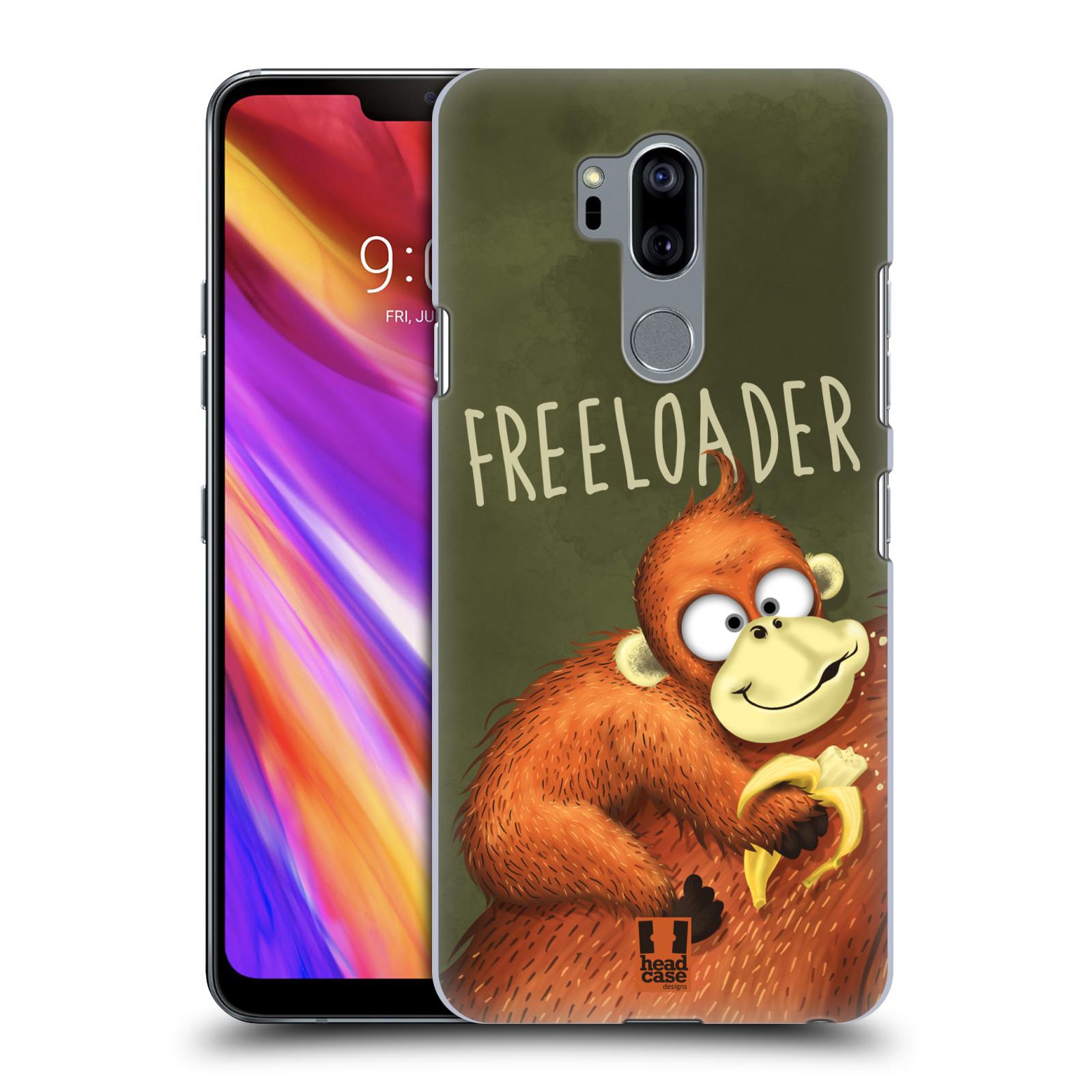 Plastové pouzdro na mobil LG G7 ThinQ - Head Case - Opičák Freeloader