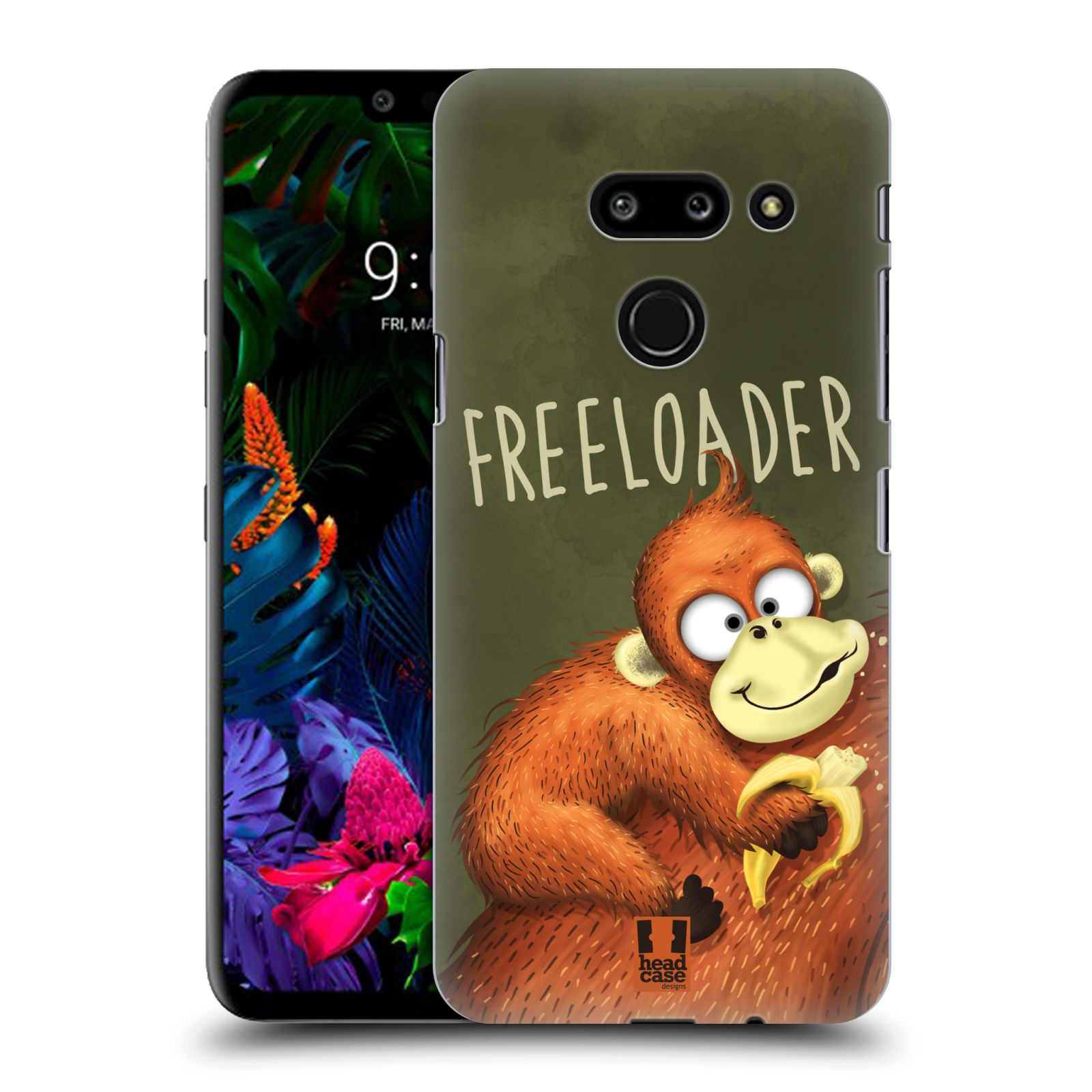 Plastové pouzdro na mobil LG G8 ThinQ - Head Case - Opičák Freeloader
