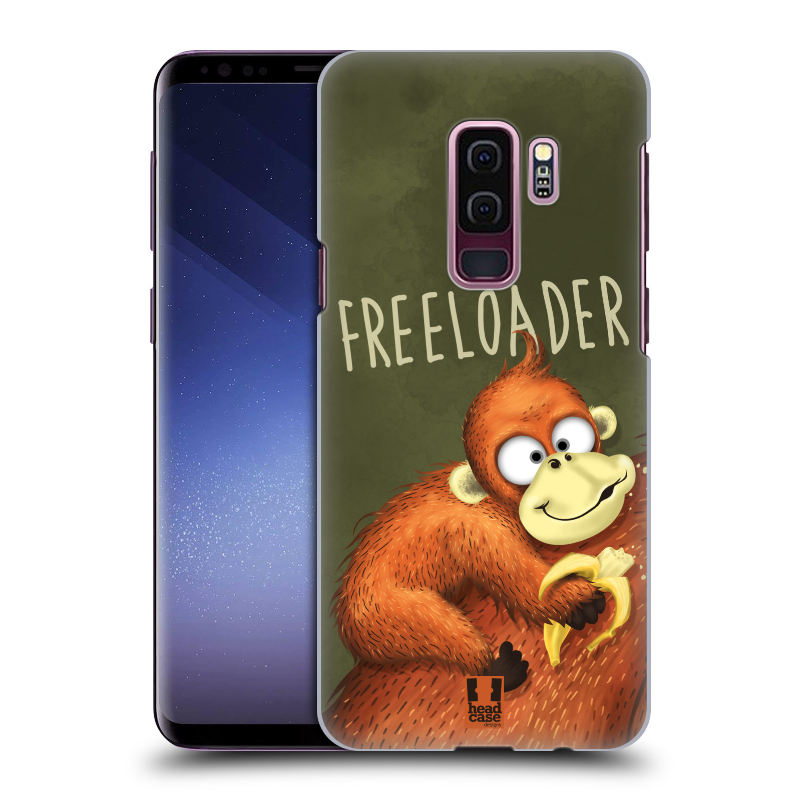 Plastové pouzdro na mobil Samsung Galaxy S9 Plus - Head Case - Opičák Freeloader