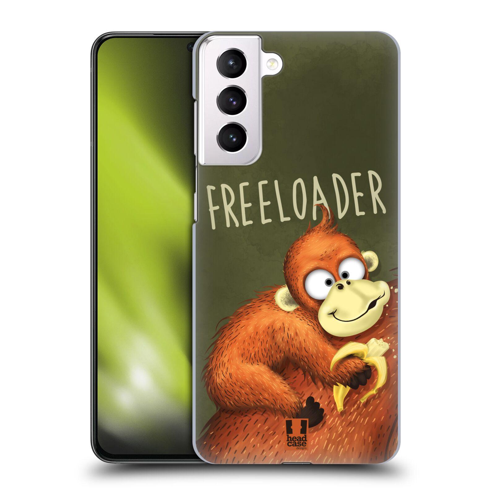Plastové pouzdro na mobil Samsung Galaxy S21 Plus 5G - Head Case - Opičák Freeloader