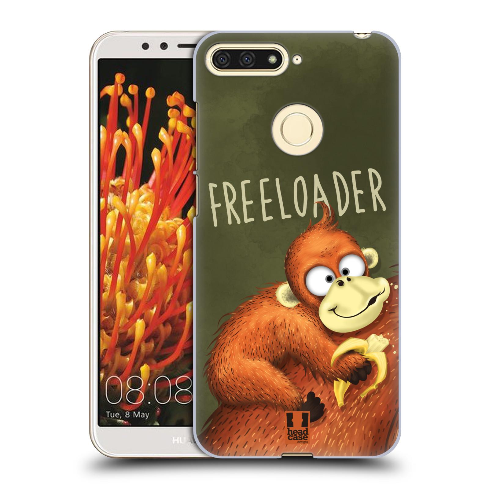 Plastové pouzdro na mobil Huawei Y6 Prime 2018 - Head Case - Opičák Freeloader